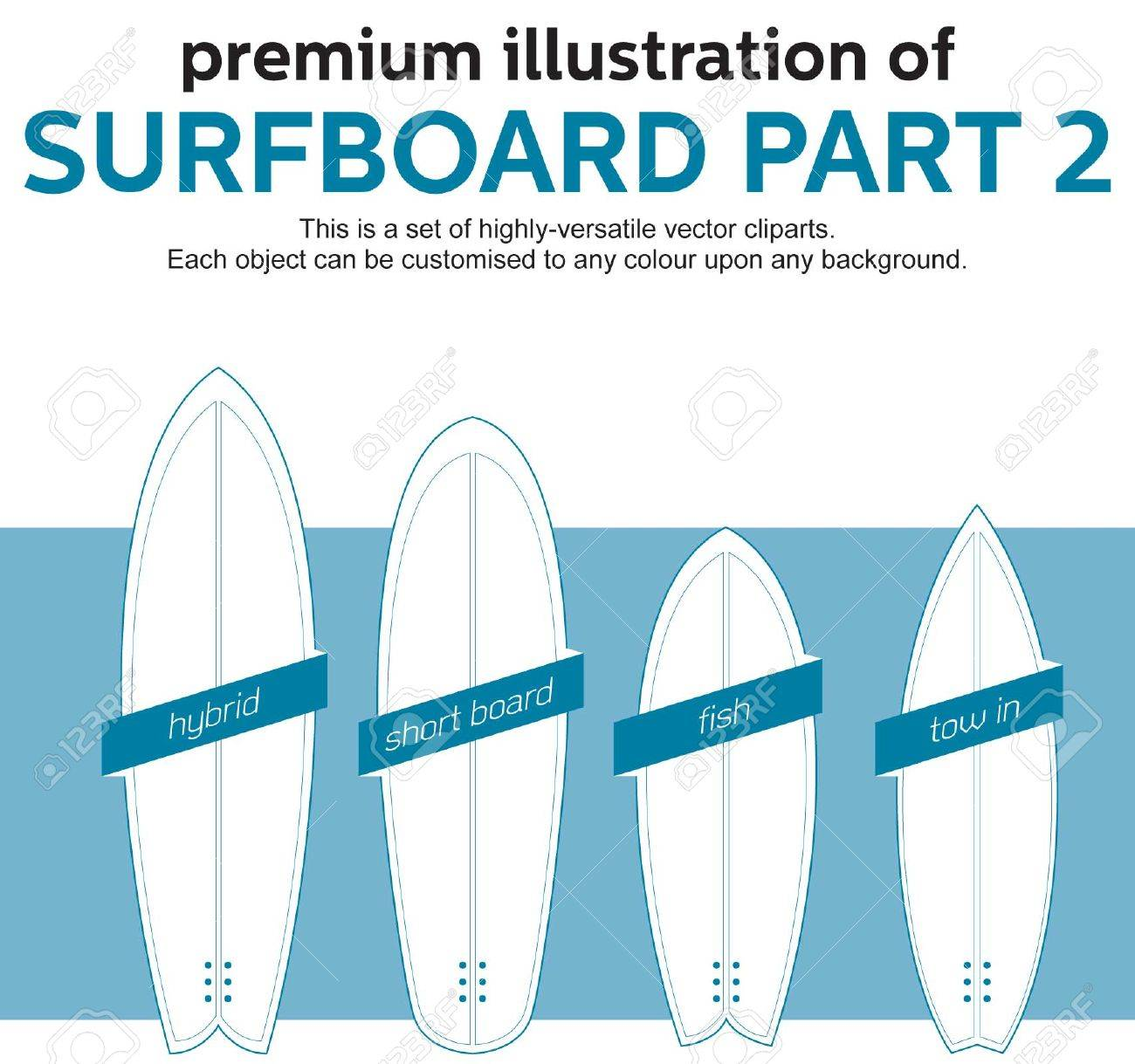 Surfboard template tree to sea wooden surfboard builders forum blank surfboard template part 2 royalty free cliparts vectors pronofoot35fo Image collections