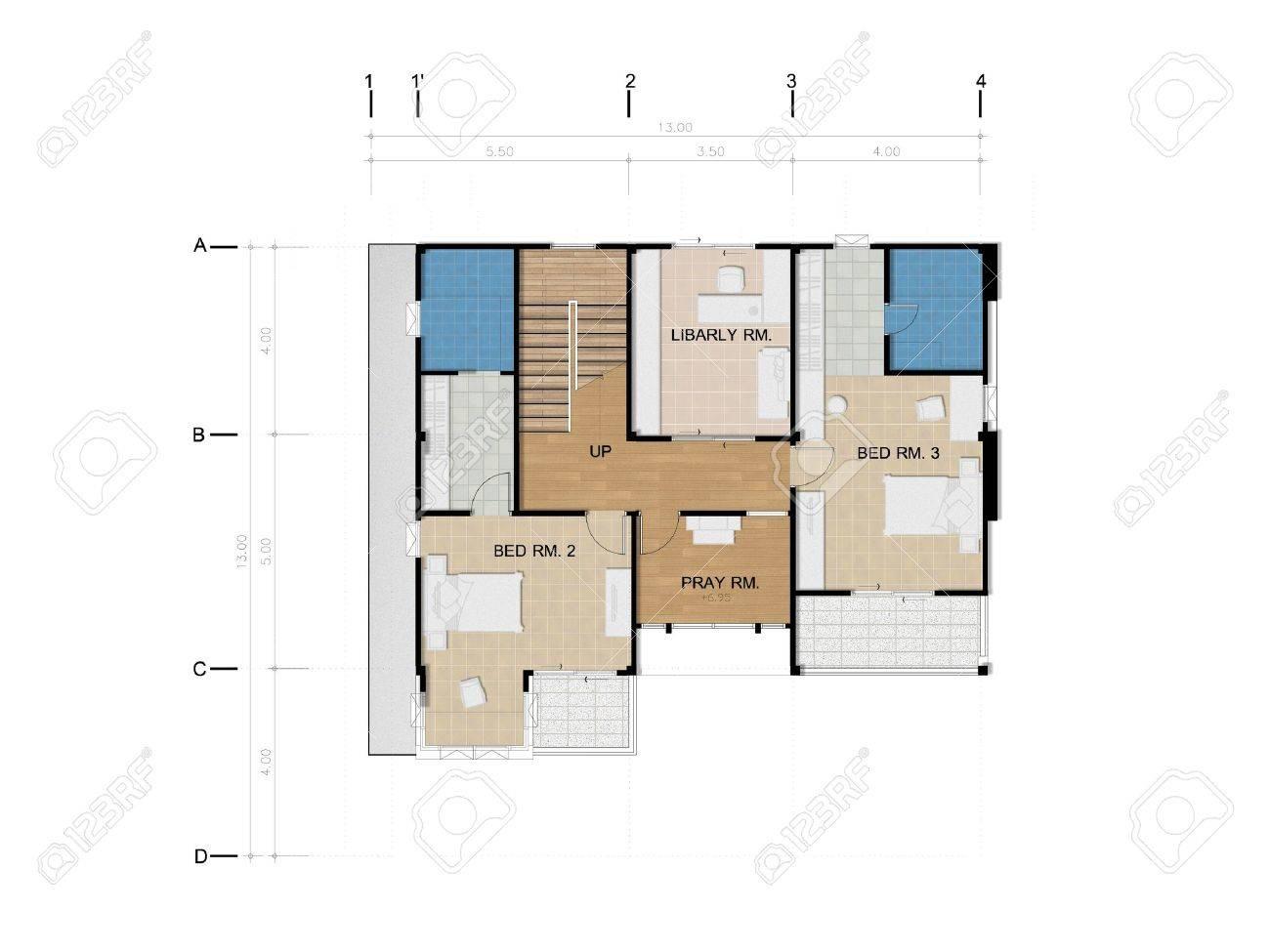 aménagement étage maison