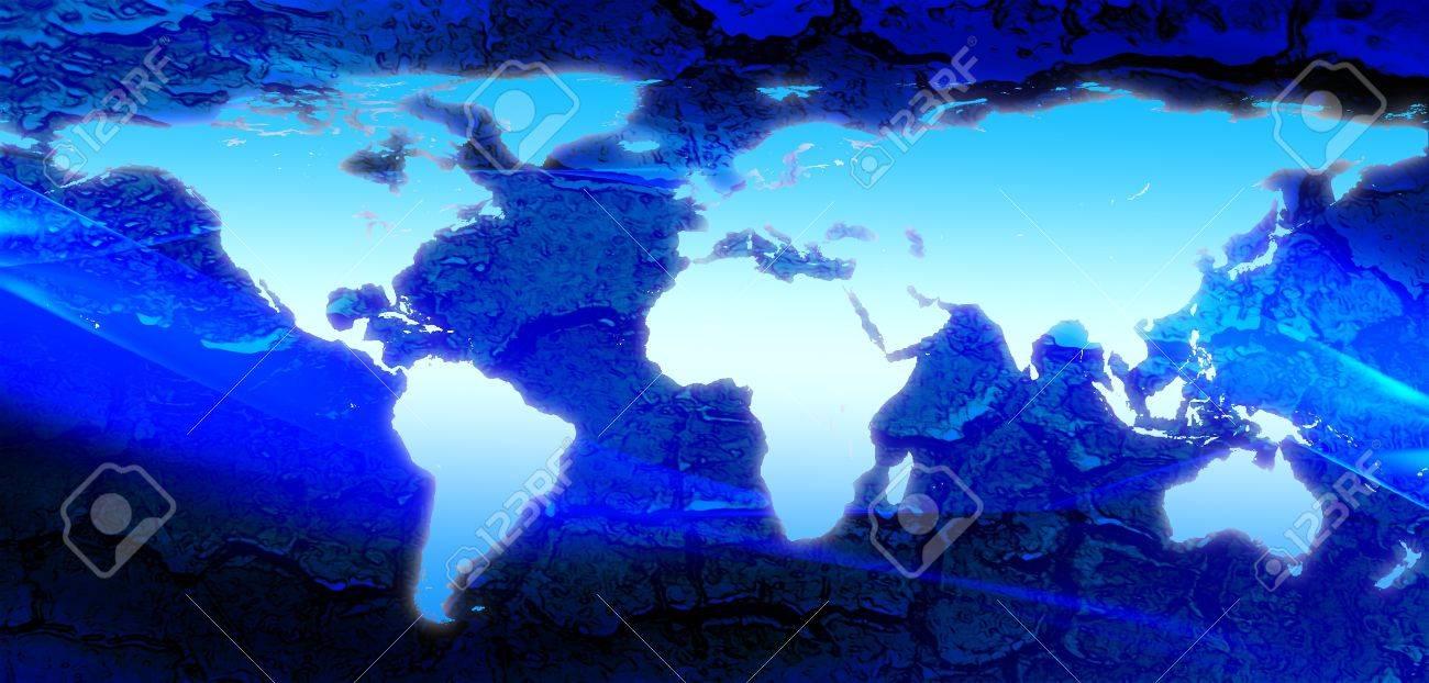 World Map Stock Photo - 7325266
