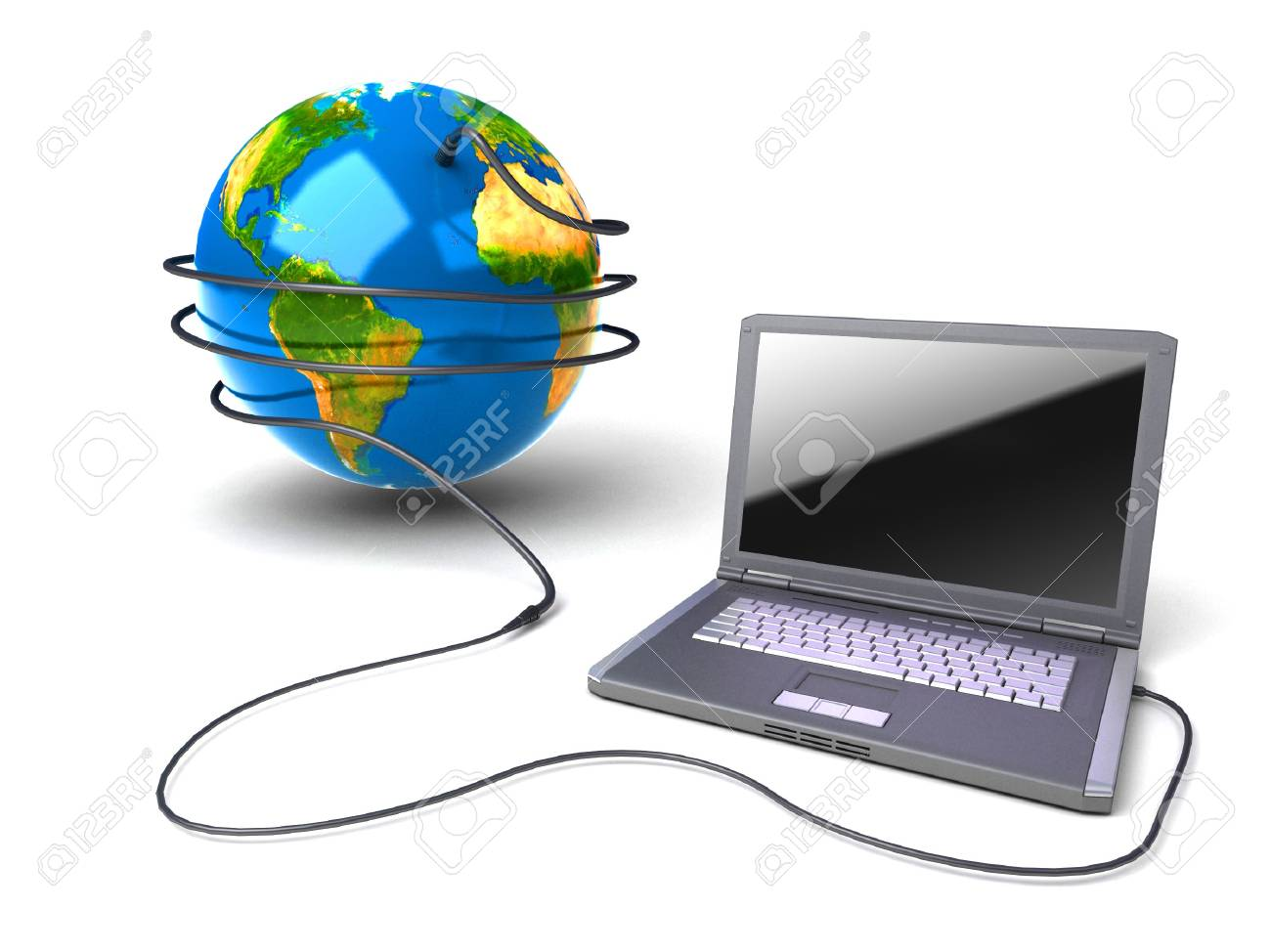 Global network the Internet Stock Photo - 7324243