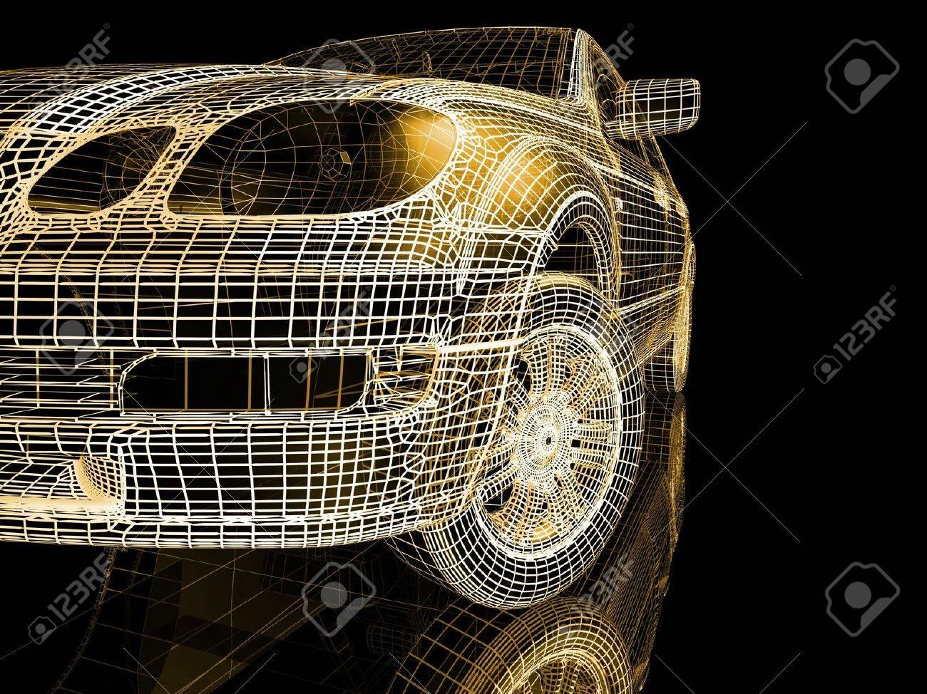 Car model Stock Photo - 7345827