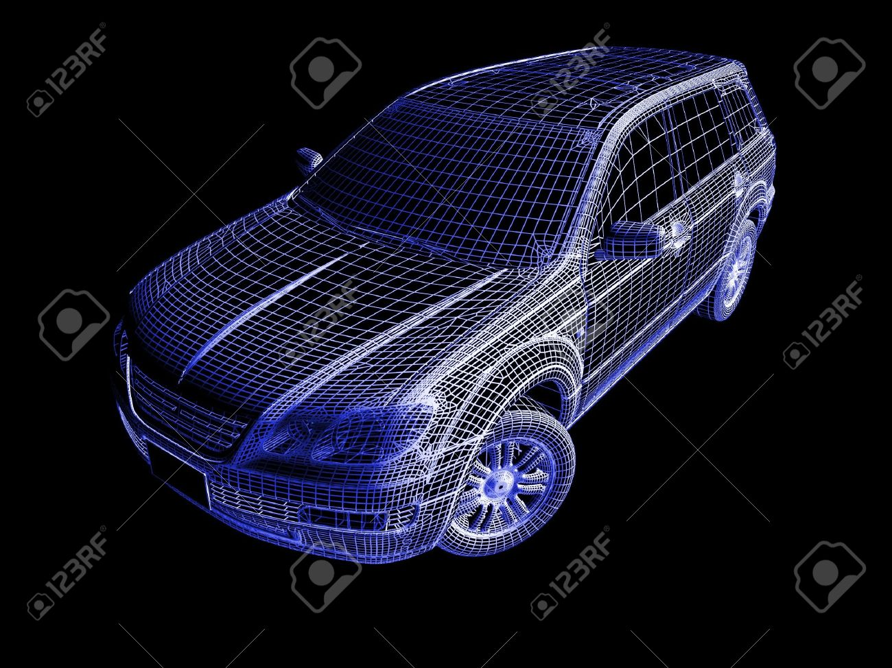 3d Car Stock Photo - 7345739