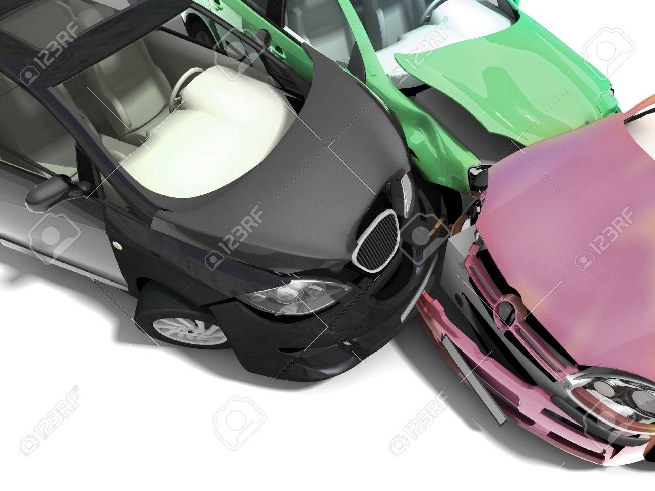 Car accident Stock Photo - 11049568