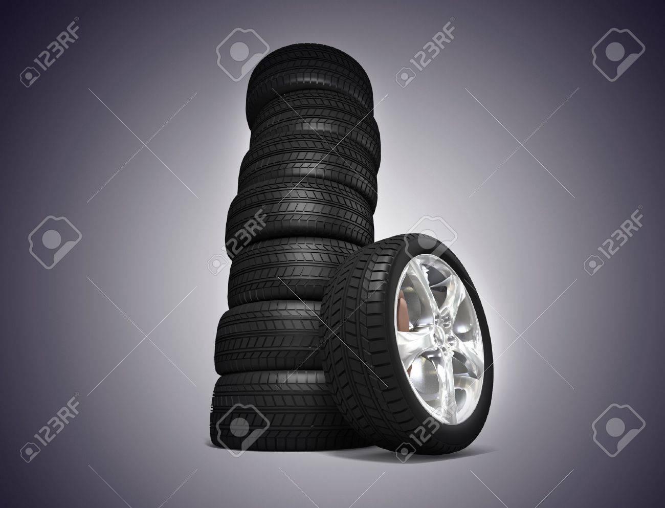Tyres Stock Photo - 11049045