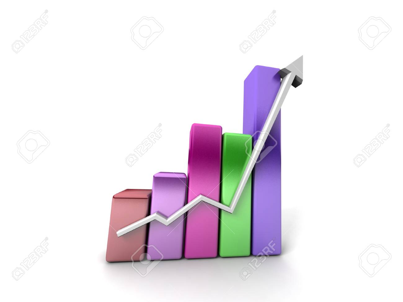 Business growth Stock Photo - 11140510