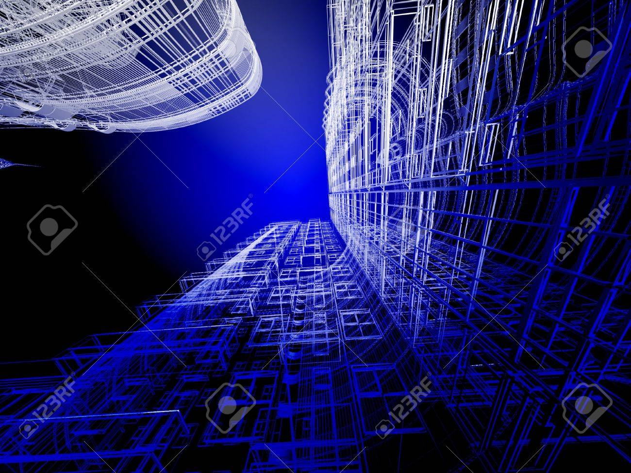 Abstract architecture Stock Photo - 11326317