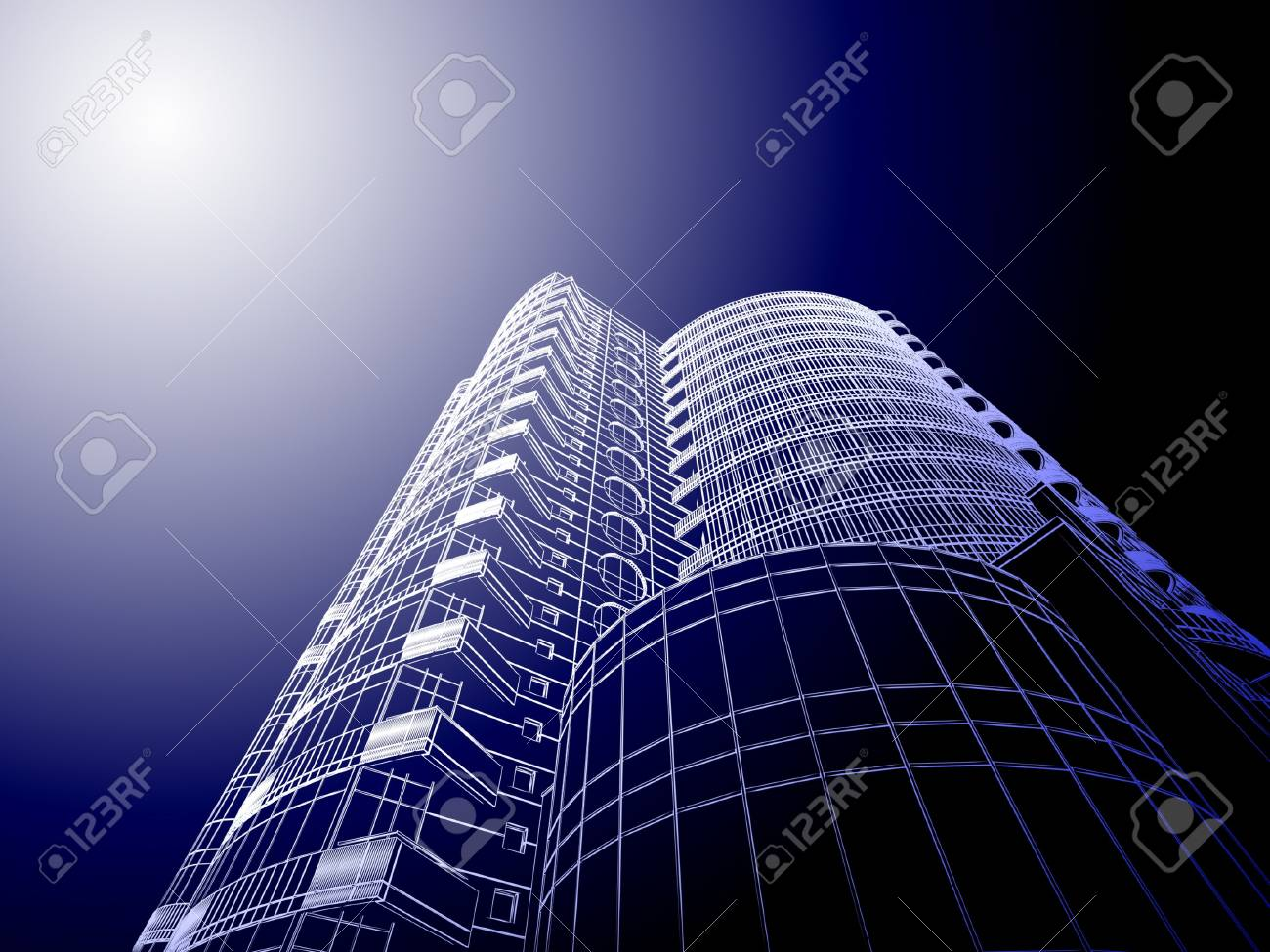 Abstract architecture Stock Photo - 11326043
