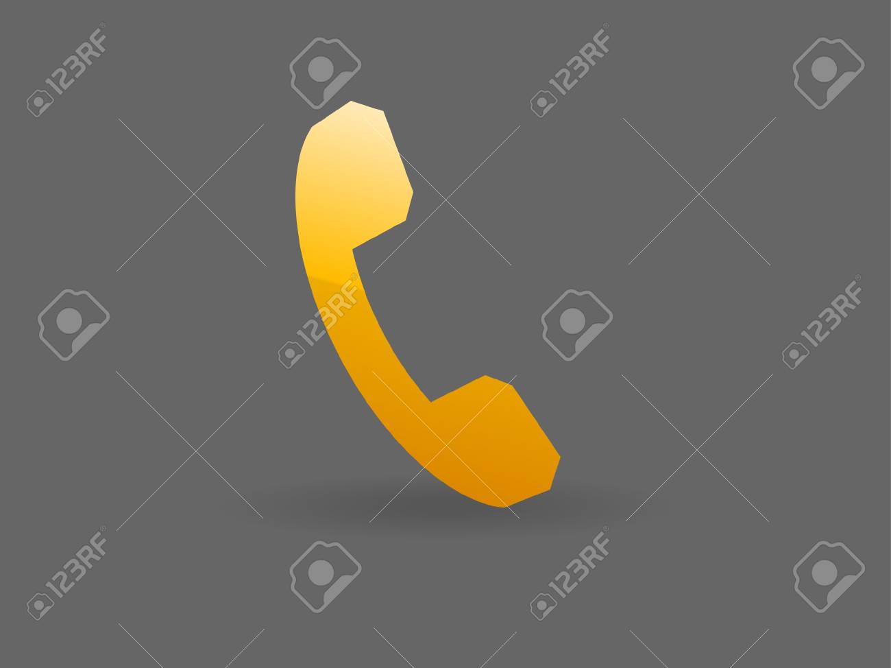 Flat icon of a phone Stock Vector - 29186593