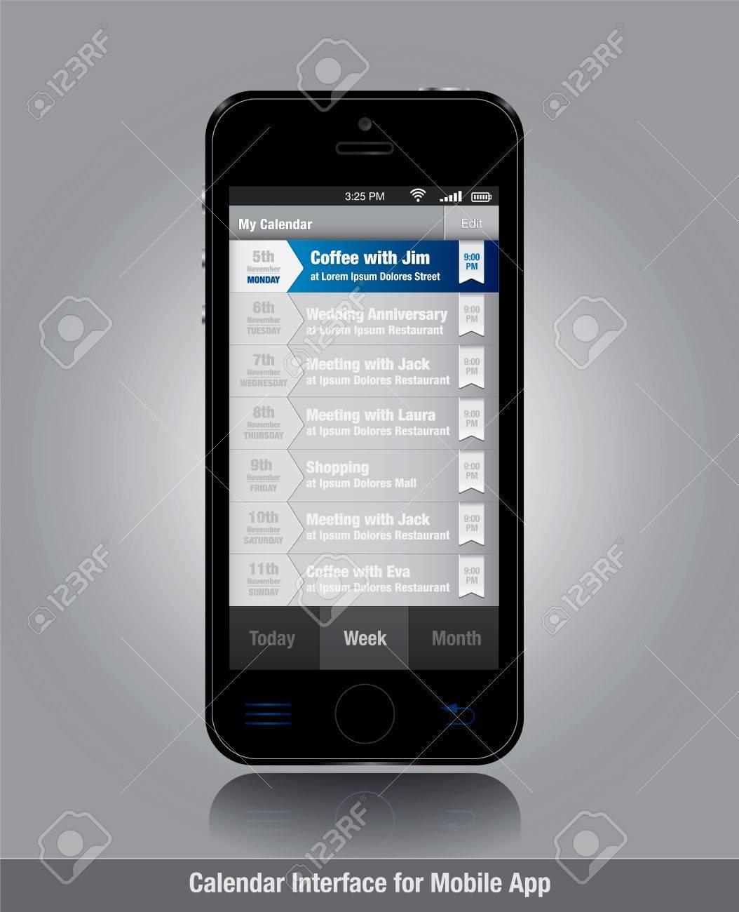 Smartphone App Smartphone