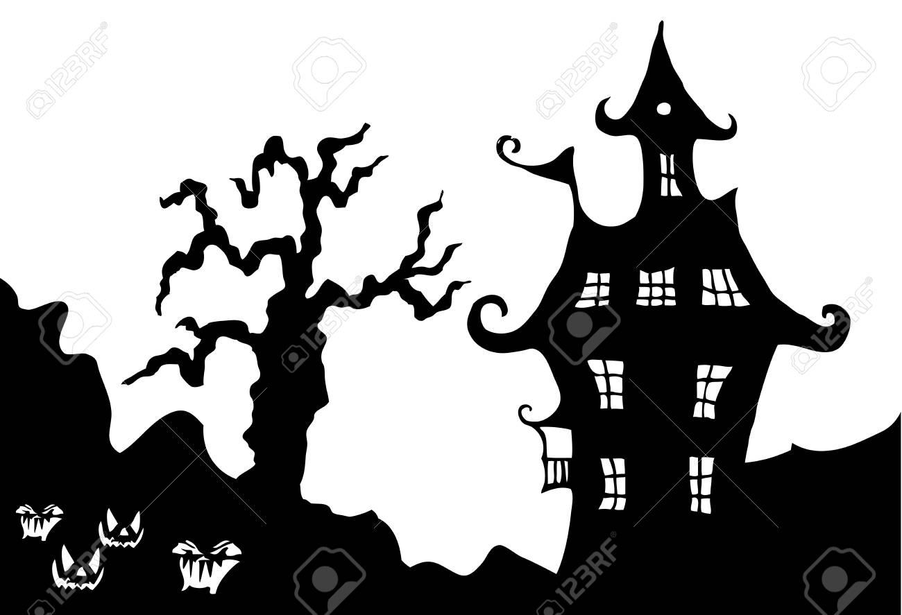 Halloween night illustration Stock Vector - 15967814