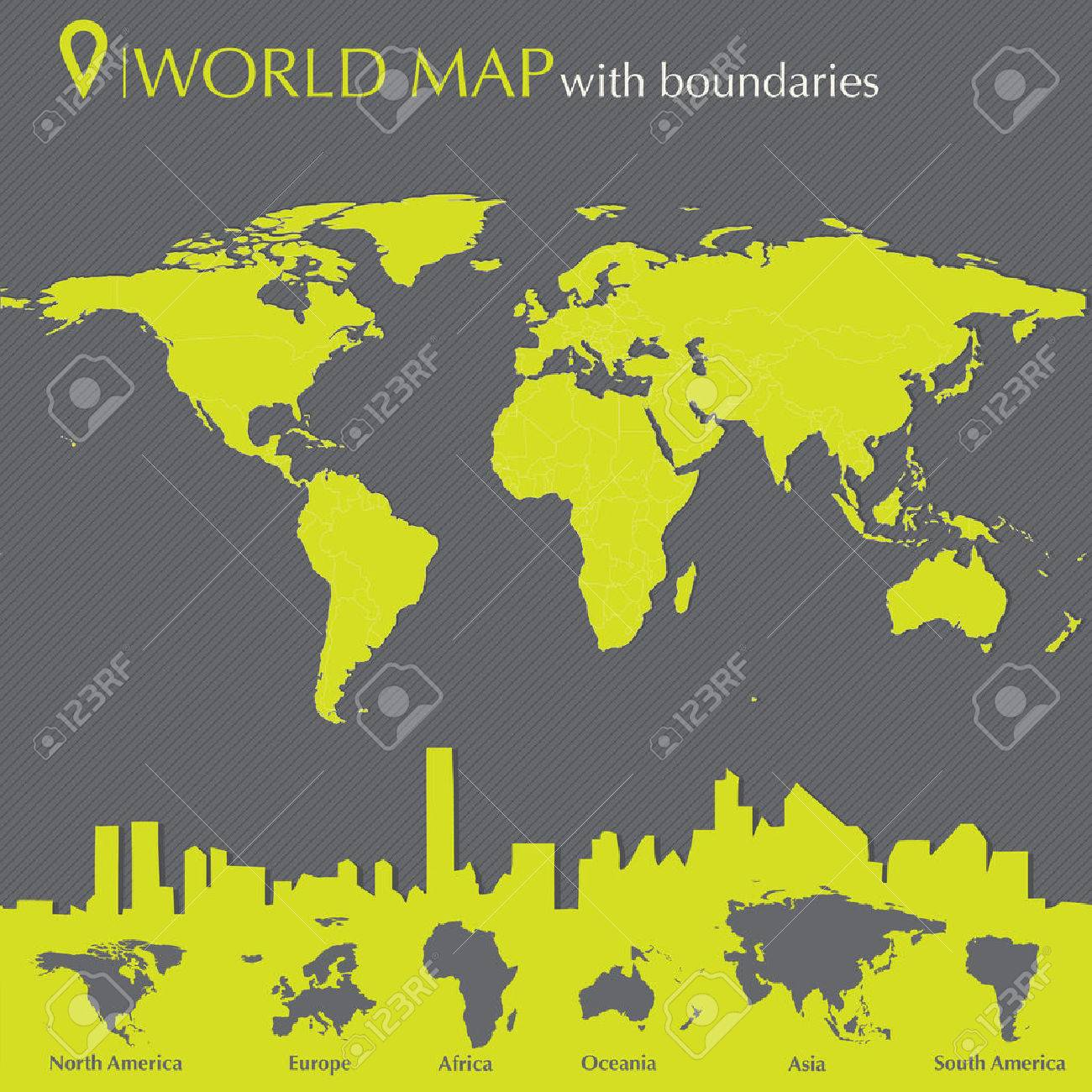 World map with countries in editable vector format royalty free vector world map with countries in editable vector format gumiabroncs Gallery