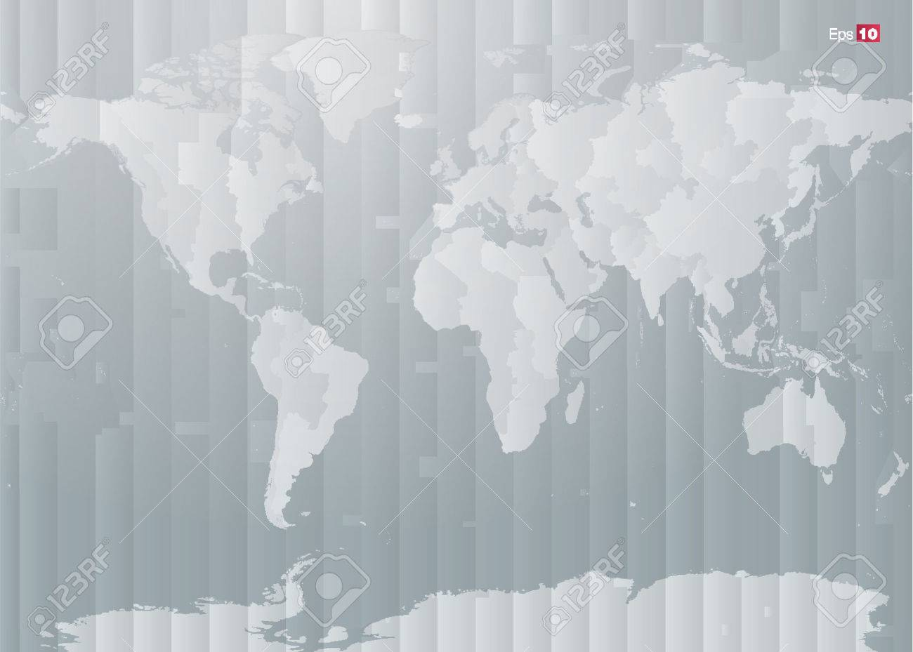 World map with countries and timezones in editable vector format vector world map with countries and timezones in editable vector format gumiabroncs Choice Image
