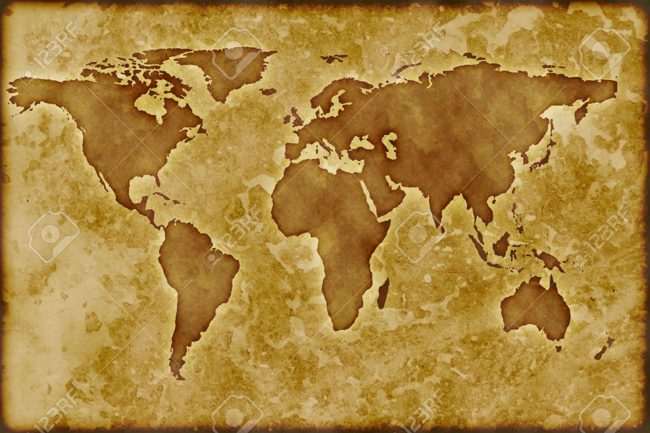 Old worldmap stock photo picture and royalty free image image 4401416 old worldmap gumiabroncs Image collections