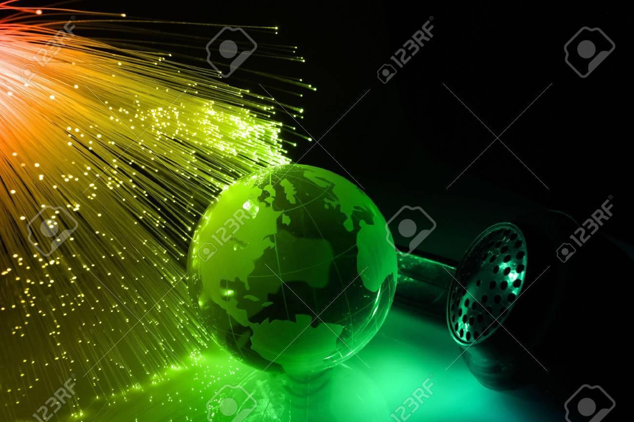 Fiber optical Stock Photo - 5698695