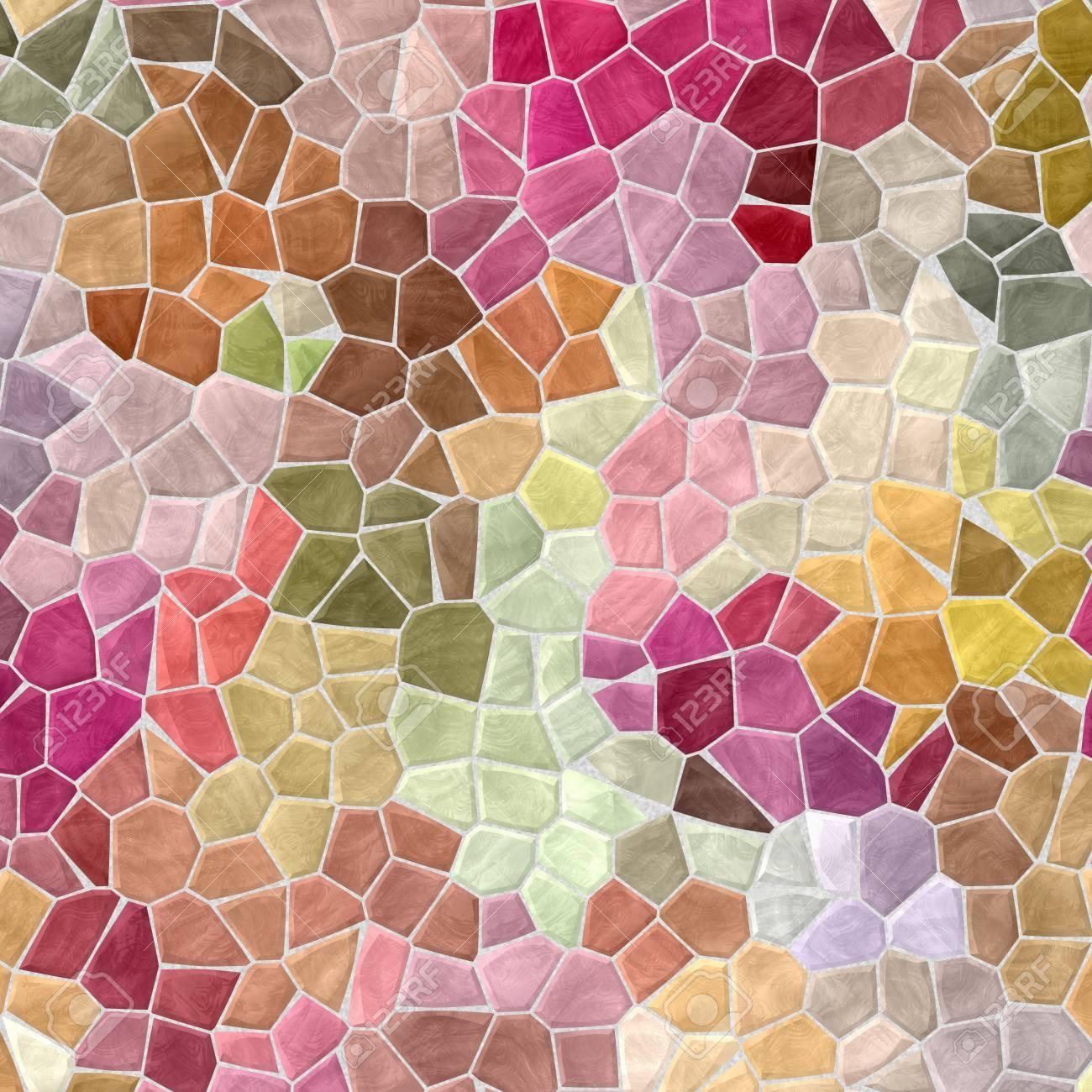 farbigen abstrakten unregelmigen marmor kunststoff hintergrund steinig mosaik muster textur mit grauen mrtel bunten - Mosaik Muster