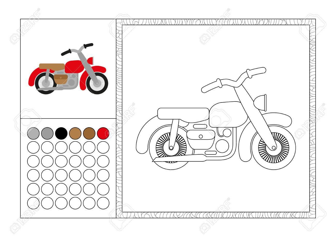 Coloriage Cars Avec Modele.Page De Livre De Coloriage Adulte Avec Modele Colore Cadre