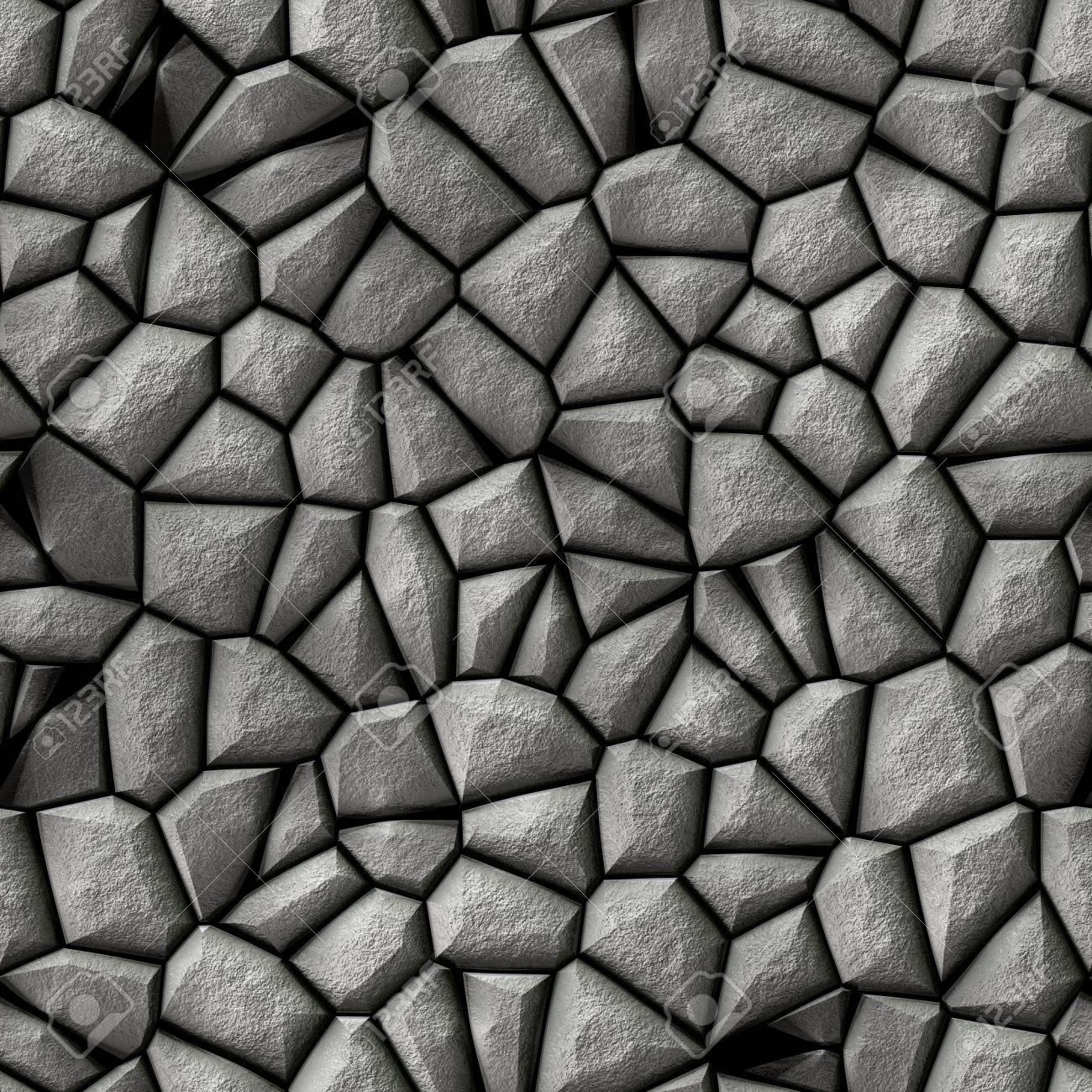 pflastersteine unregelmigen mosaik muster textur nahtlose hintergrund pflaster hellgrau gefrbt standard bild - Pflastersteine Muster Bilder