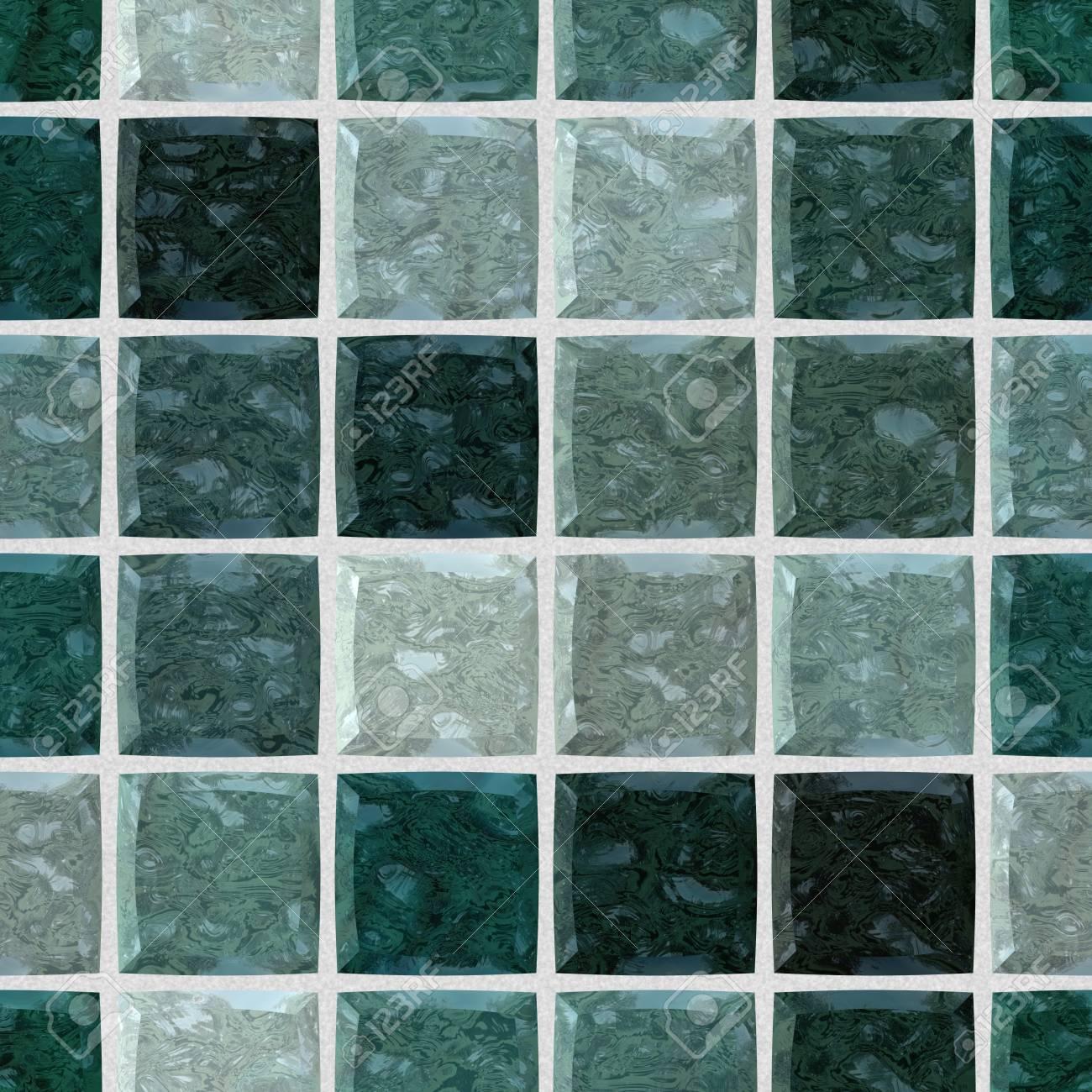 farbiger fußboden marmor überprüft steiniges mosaikmuster