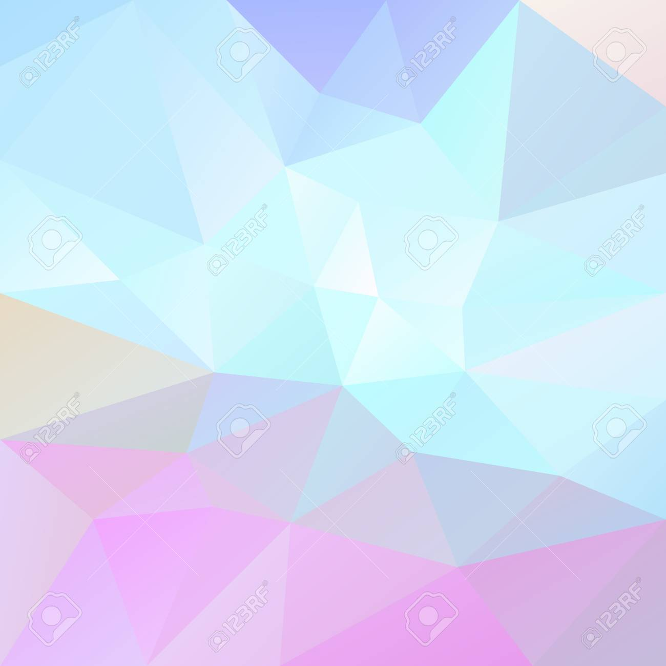 Vector Abstract Irregular Polygonal Background Cute Light Pastel Royalty Free Cliparts Vectors And Stock Illustration Image 95710537