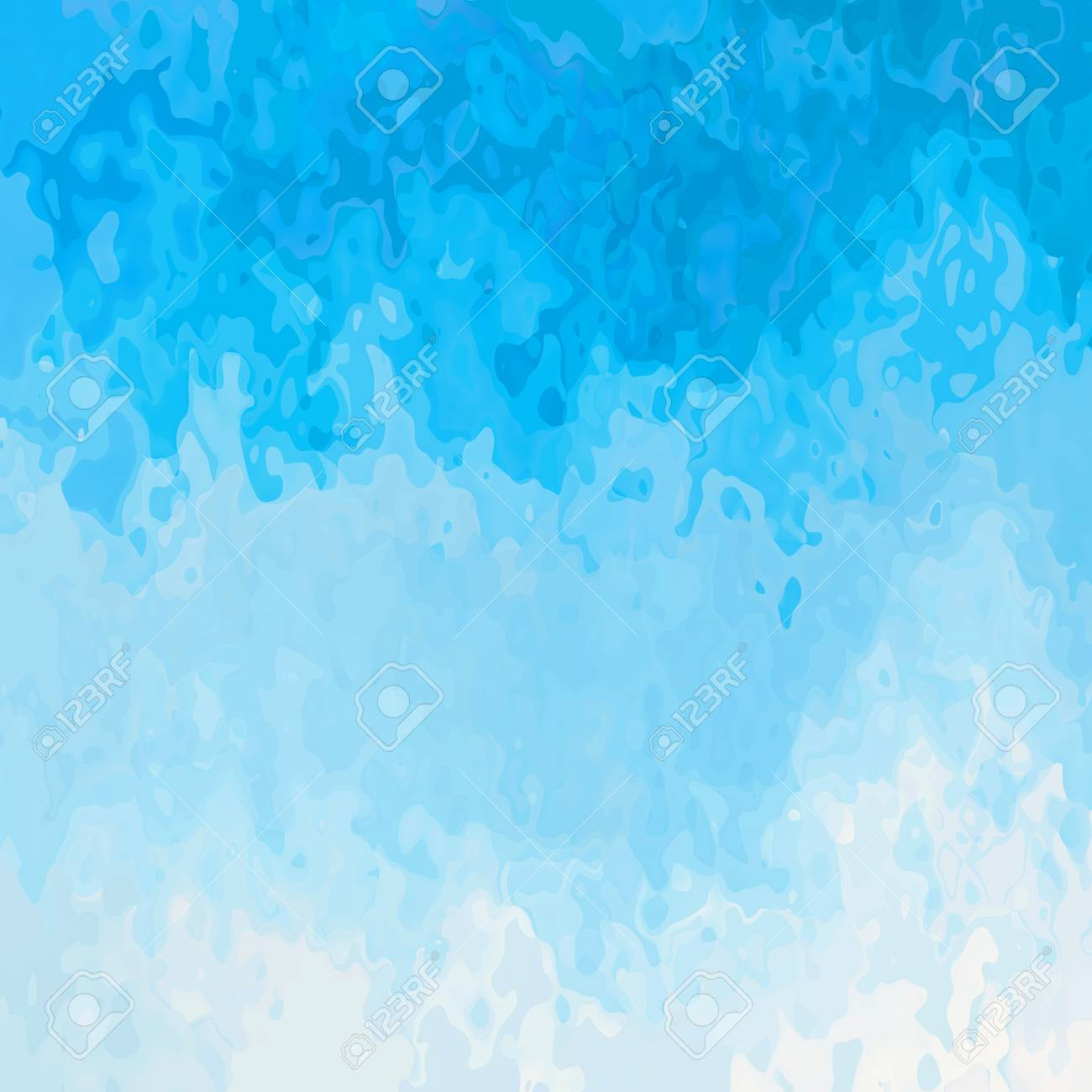 Abstract Stained Pattern Texture Square Background Sky Blue White