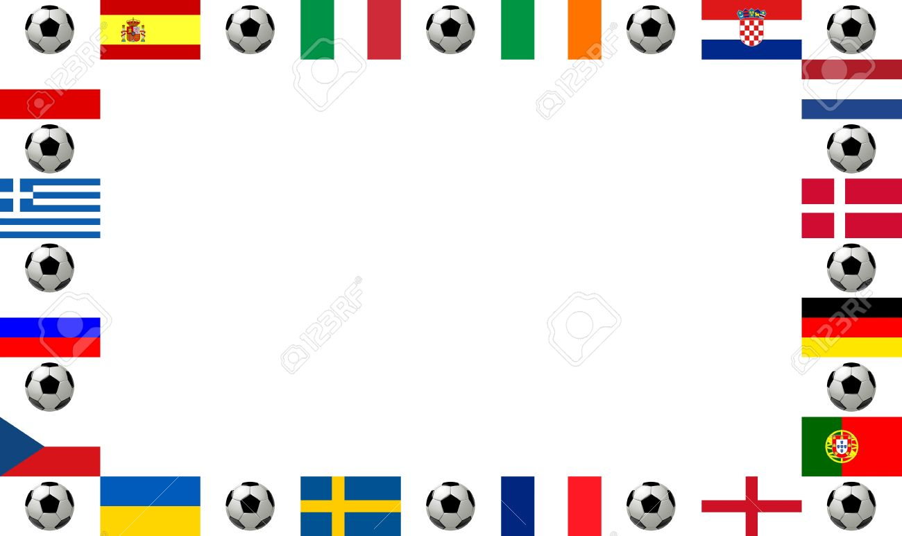 Marco Campeonato De Fútbol De 2012. Marco, Compuesto Por Las ...