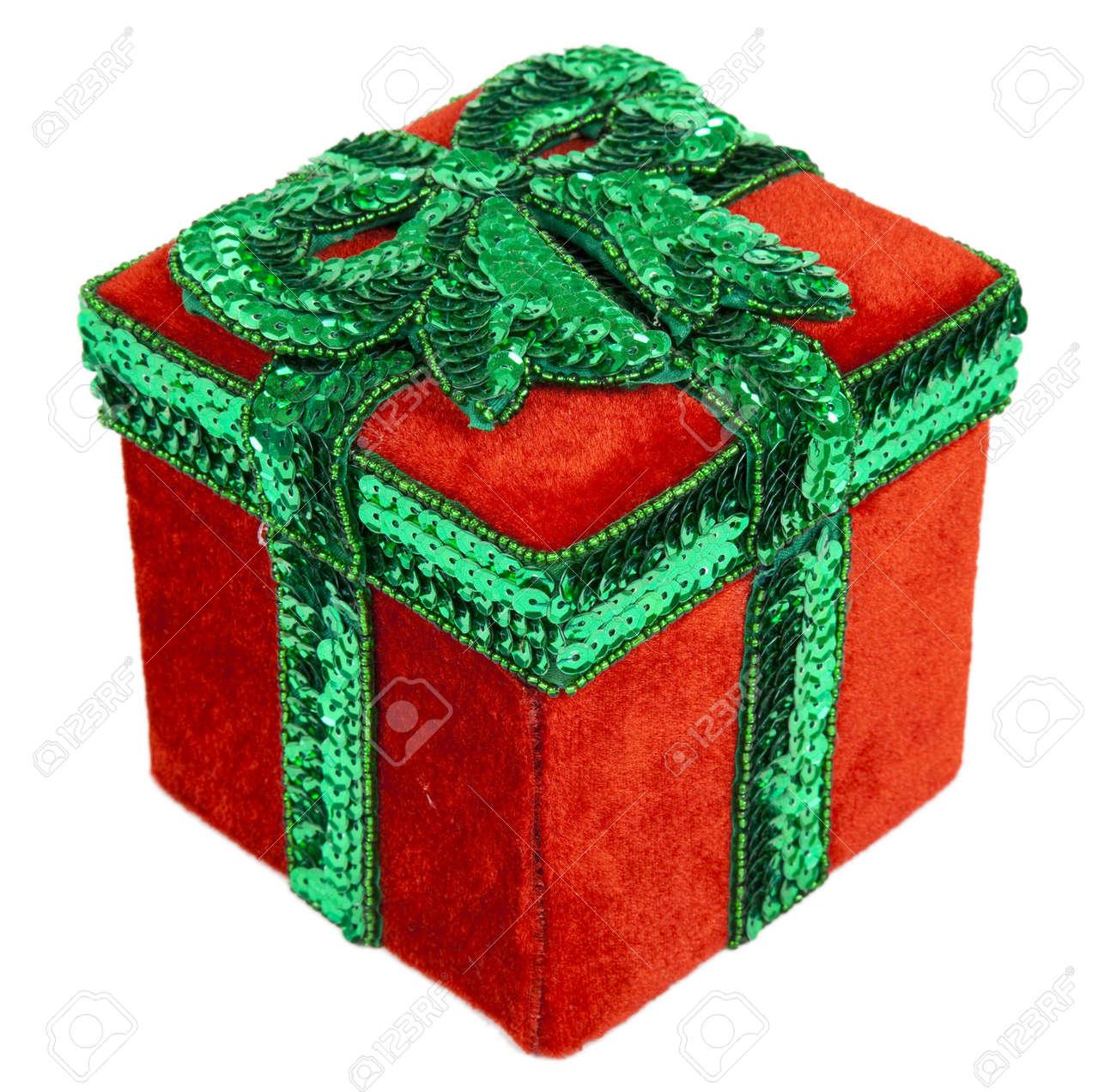 Geschenkbox Weihnachten.Stock Photo