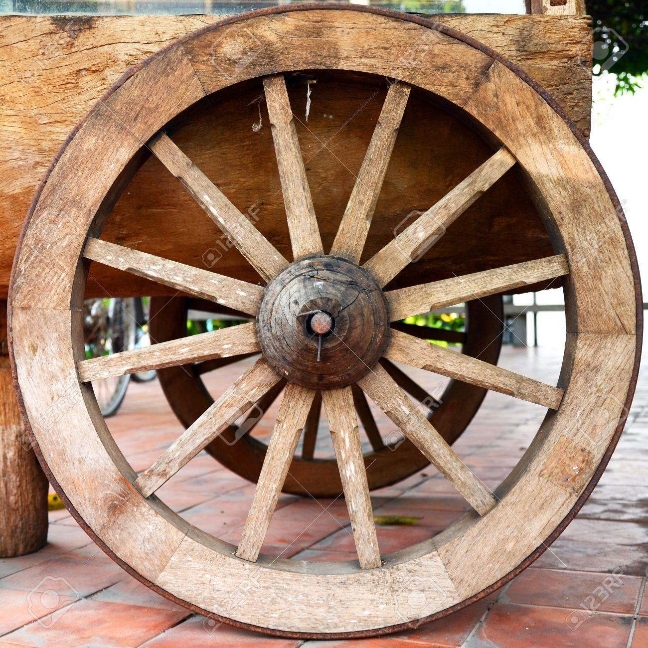 [Image: 24168526-old-wooden-cartwheel.jpg]