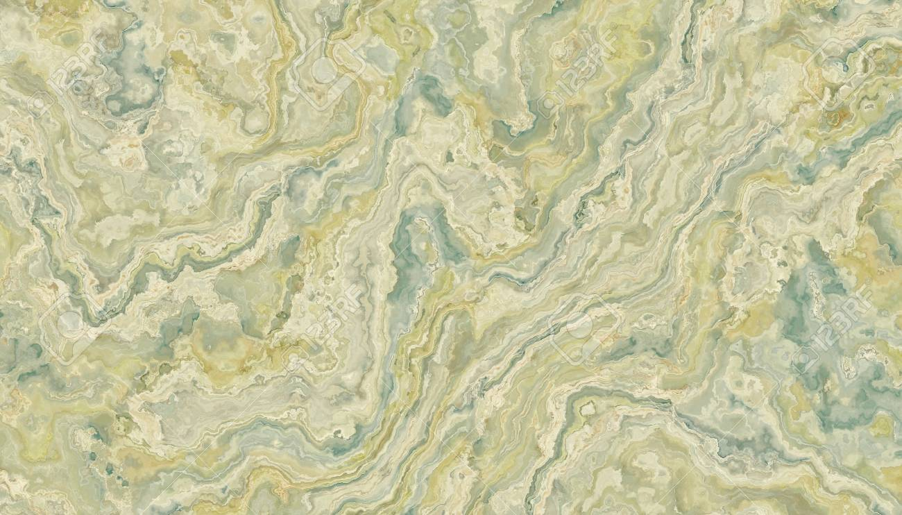 The Tile Of Green Onyx Abstract Texture. Soft Background. 2D.. Stock ...