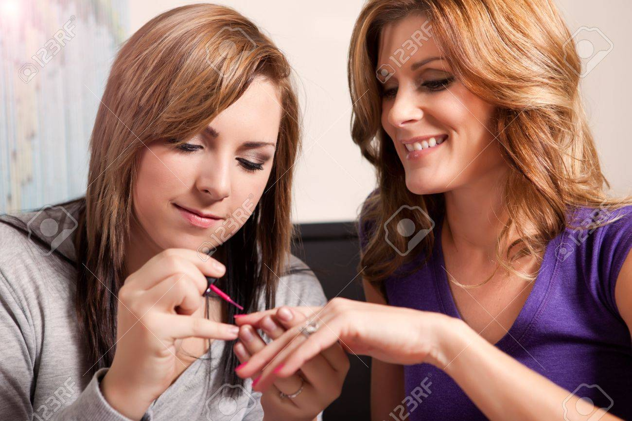 A shot of a mother spending time with her teenage daughter Stock Photo - 8809780
