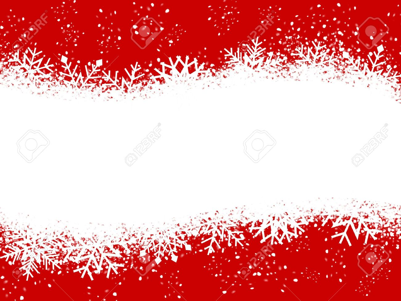 Red And White Christmas Card Stock Photo, Picture And Royalty Free ...