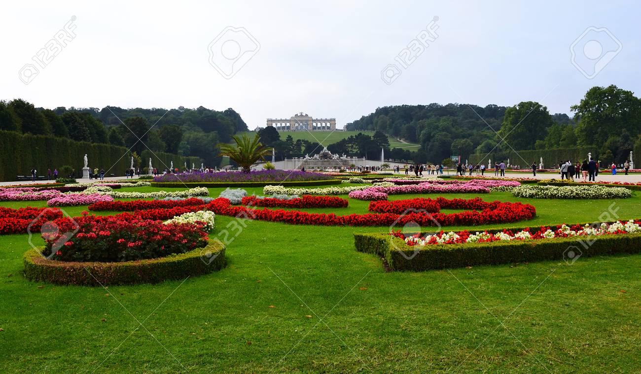 Schonbrunn palace in Vienna Austria Stock Photo - 15180707