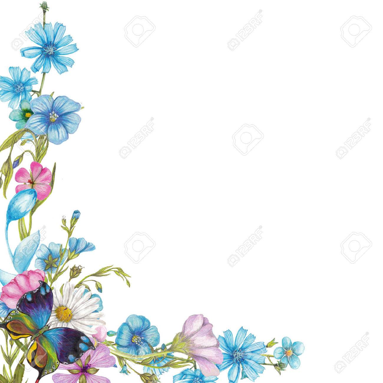 9,987 Wildflower Stock Illustrations, Cliparts And Royalty Free ...