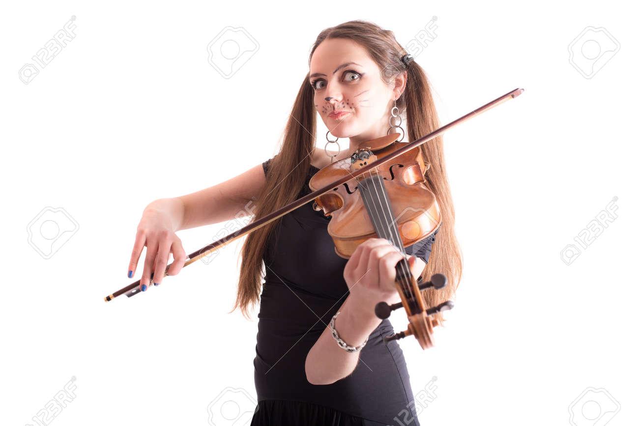 Chica violinista