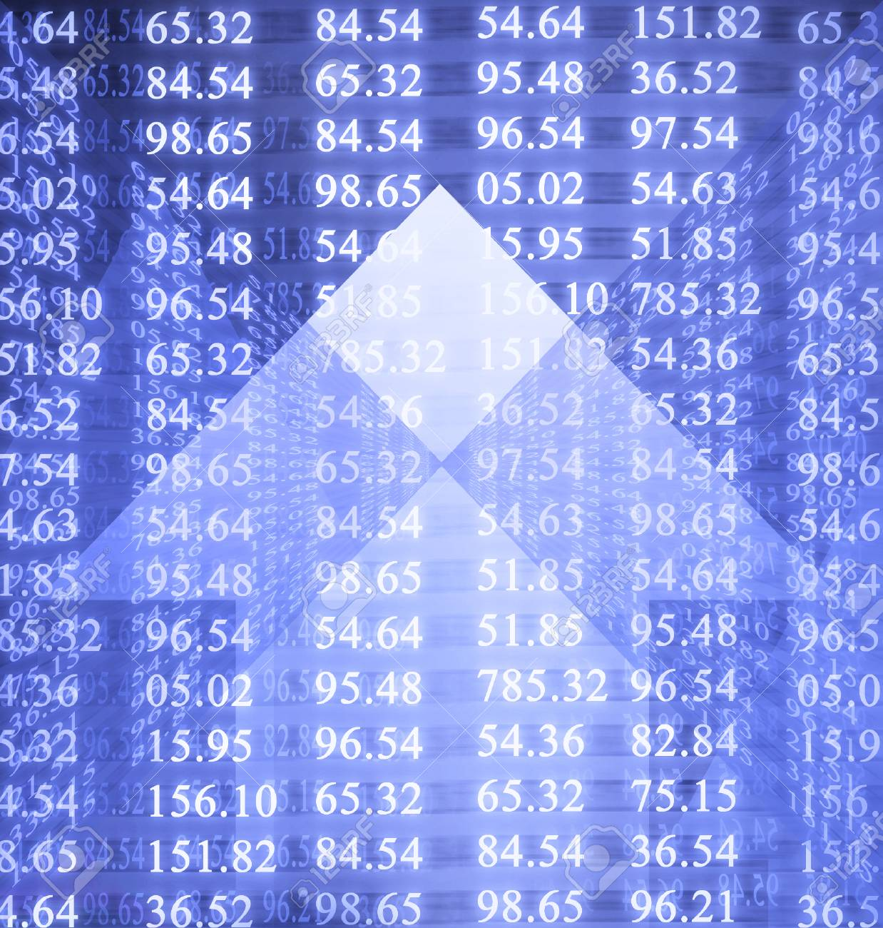 Electronic stock numbers Stock Photo - 1727055