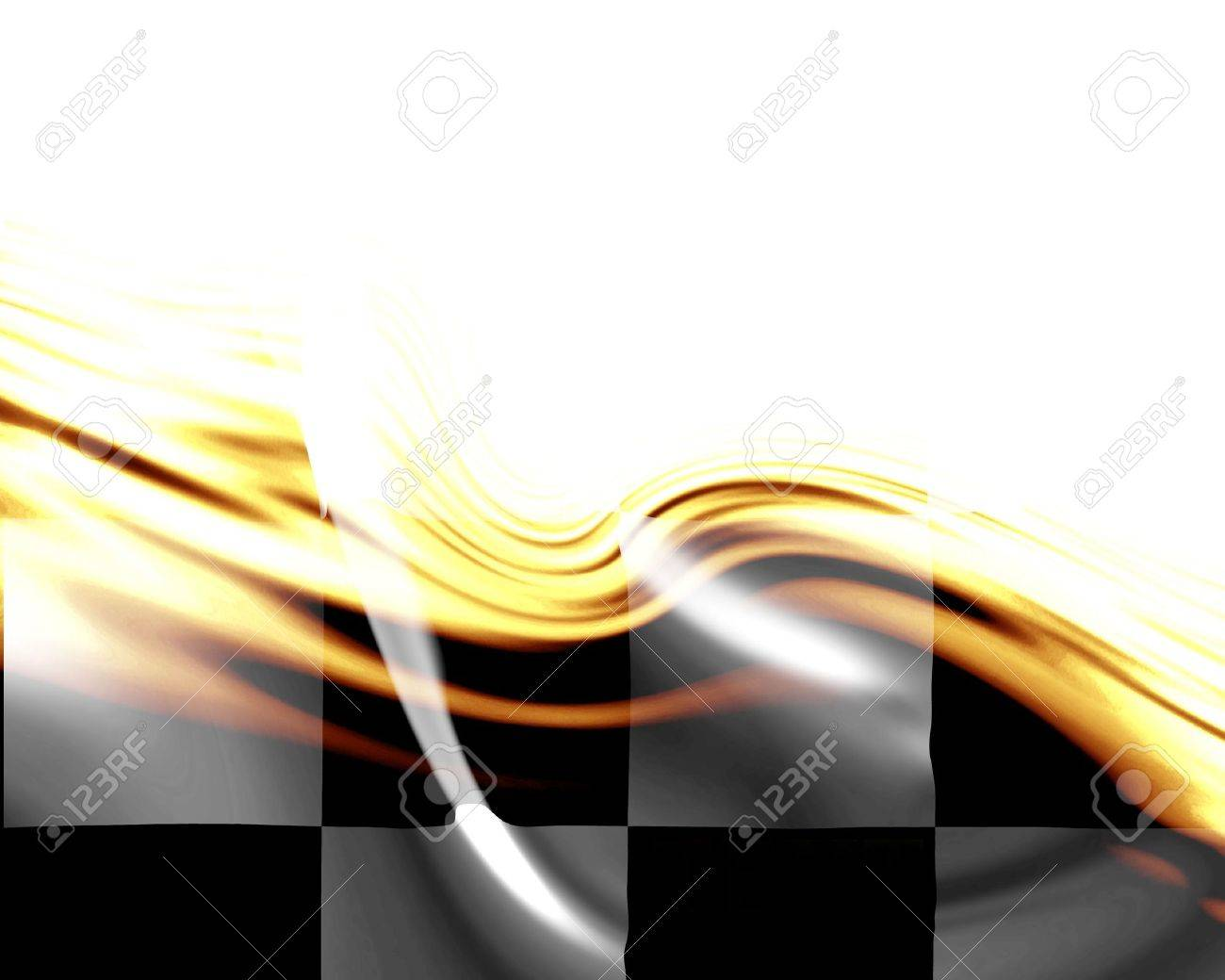 Elegant design with flag center and open spaces Stock Photo - 3195529