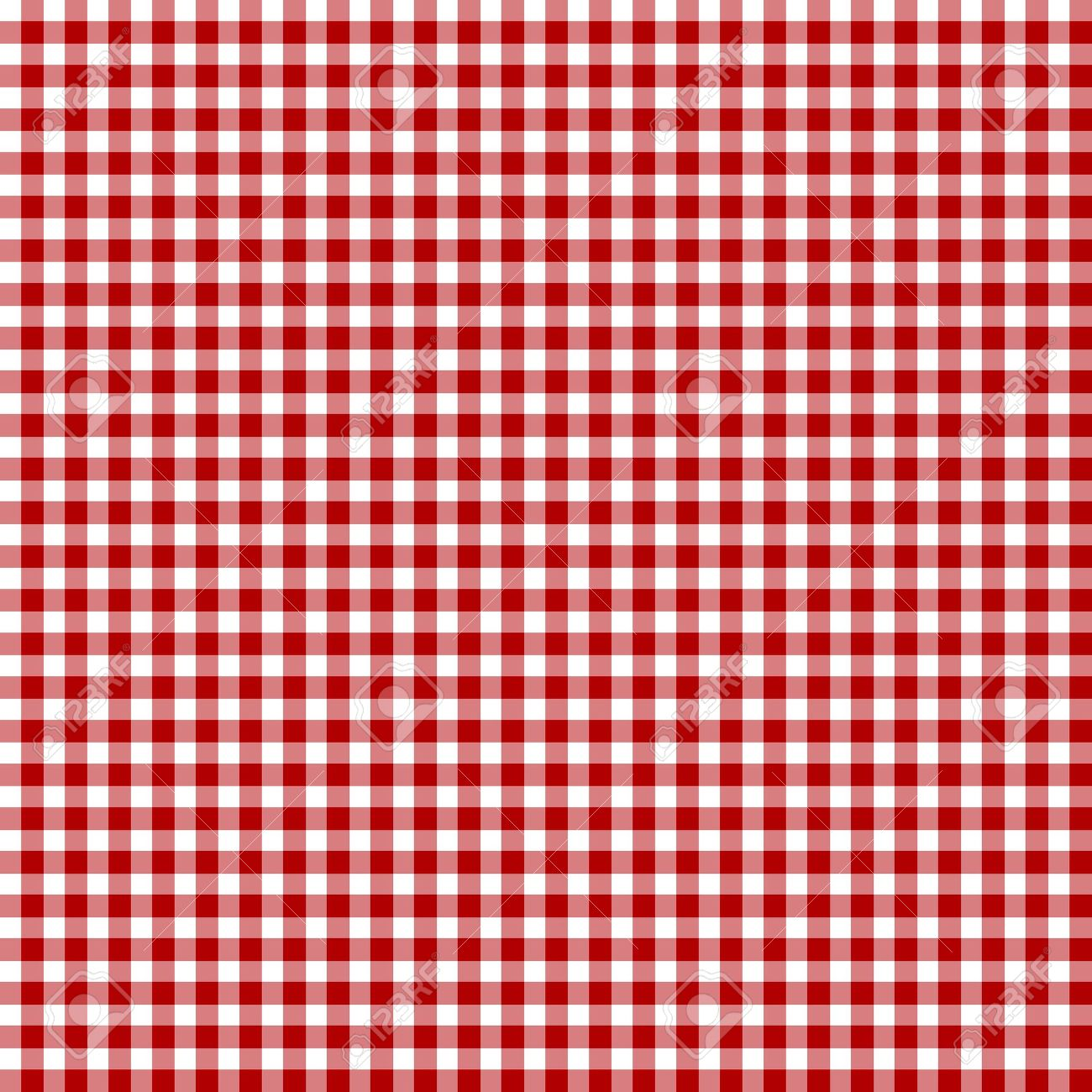 Attractive Red Picnic Fabric With Straight Lines Stock Photo   3207212