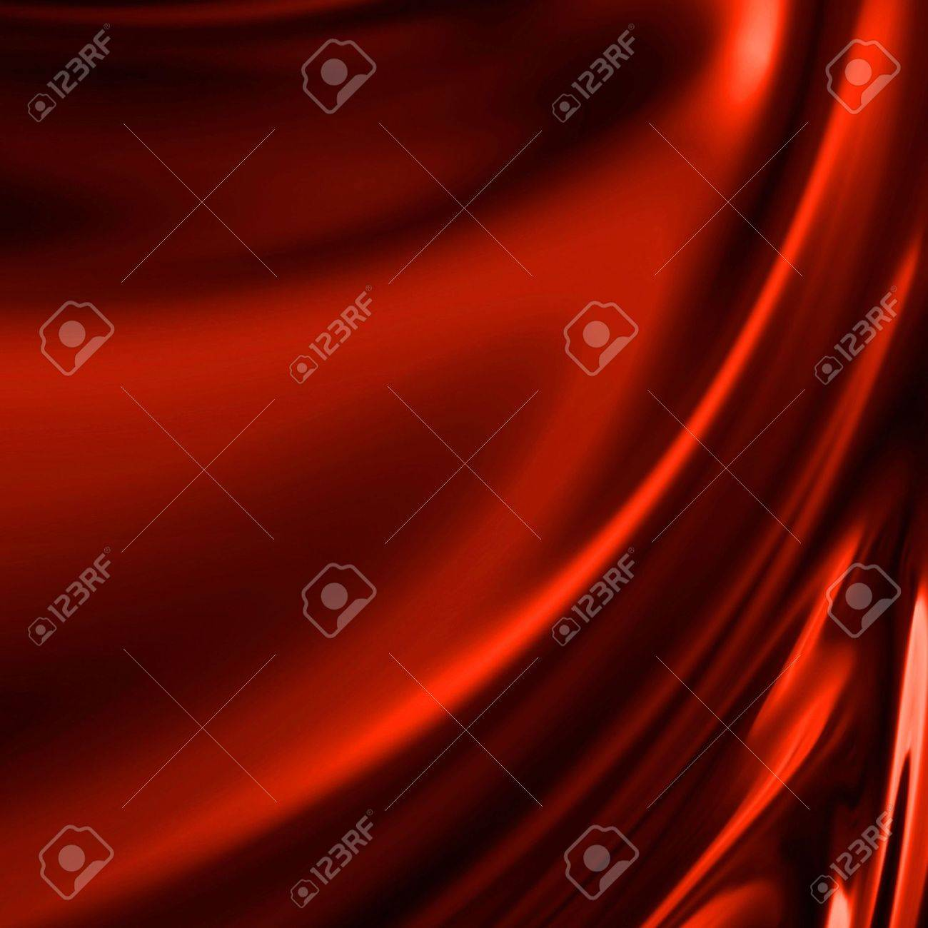 Red drapery with some folds Stock Photo - 3301474