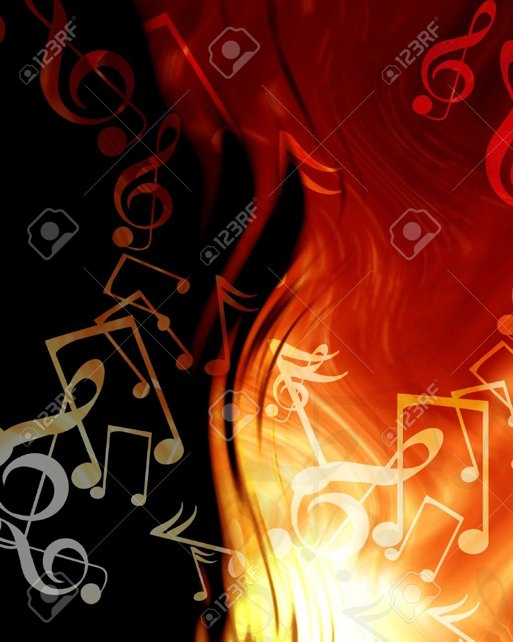 Fantastic Wallpaper Music Fire - 3524851-abstract-musical-notes-on-a-fire-like-background  You Should Have_94241.jpg