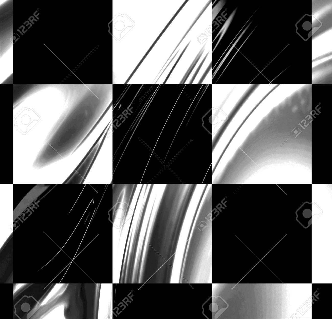 racing flag with some smooth folds in it Stock Photo - 3866319