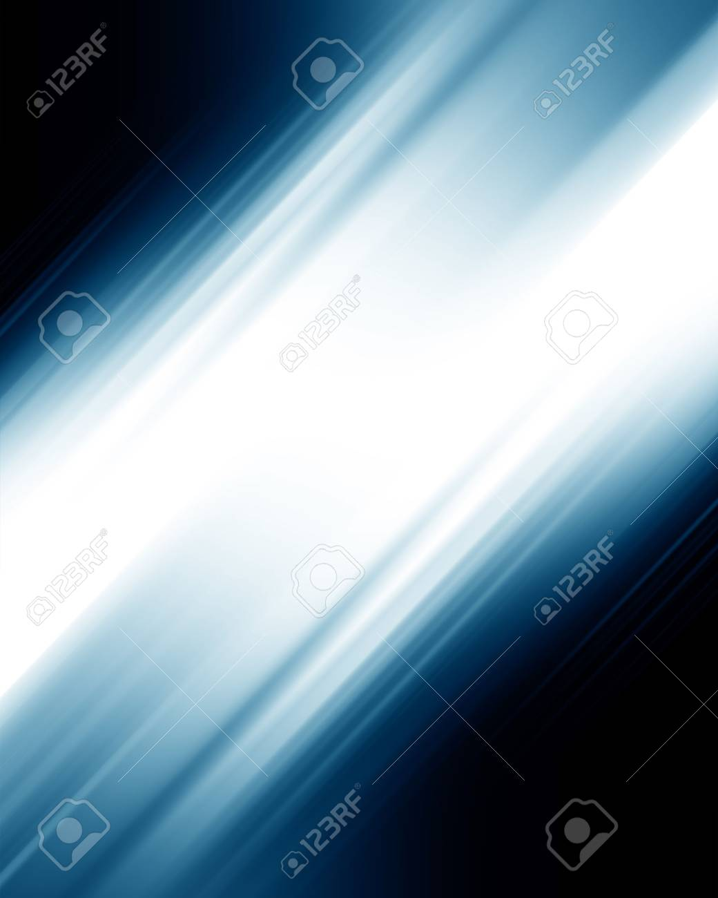 abstract blue background with some smooth lines in it Stock Photo - 3909776