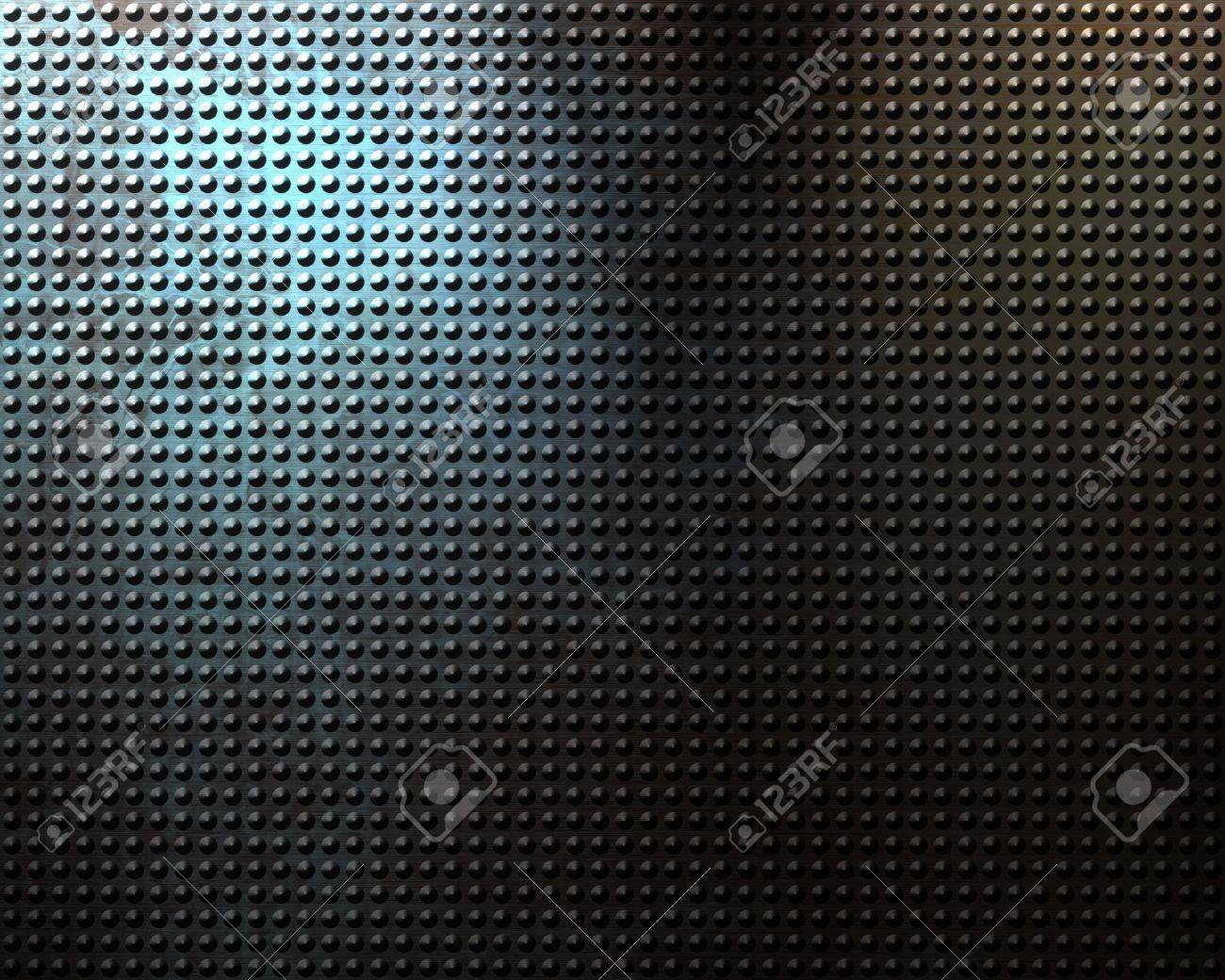 Brushed aluminium metal plate with some reflection Stock Photo - 5659282