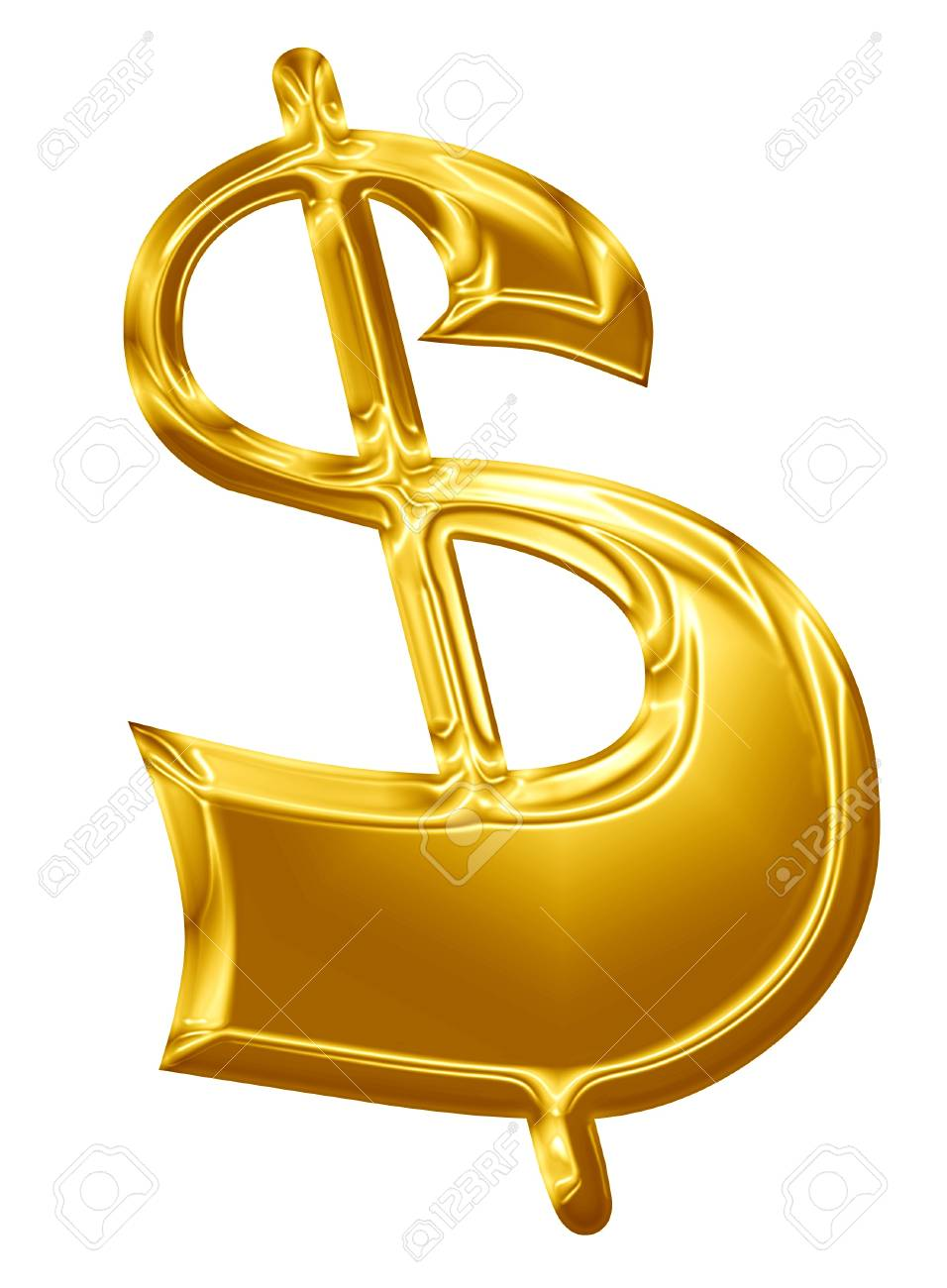 Dollar sign representing the united states common currency Stock Photo - 14670007
