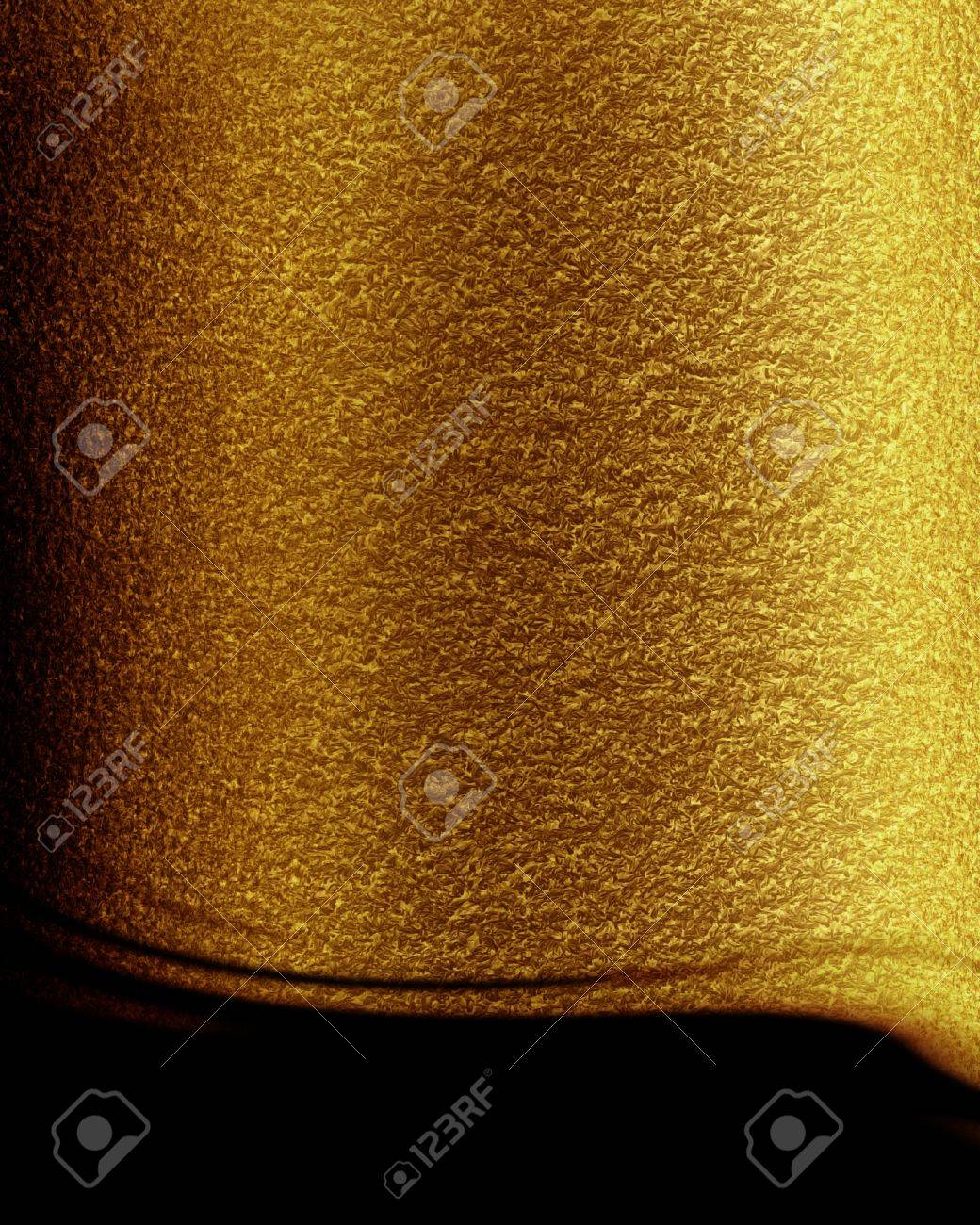 Golden background with some reflected light and highlights Stock Photo - 14840860