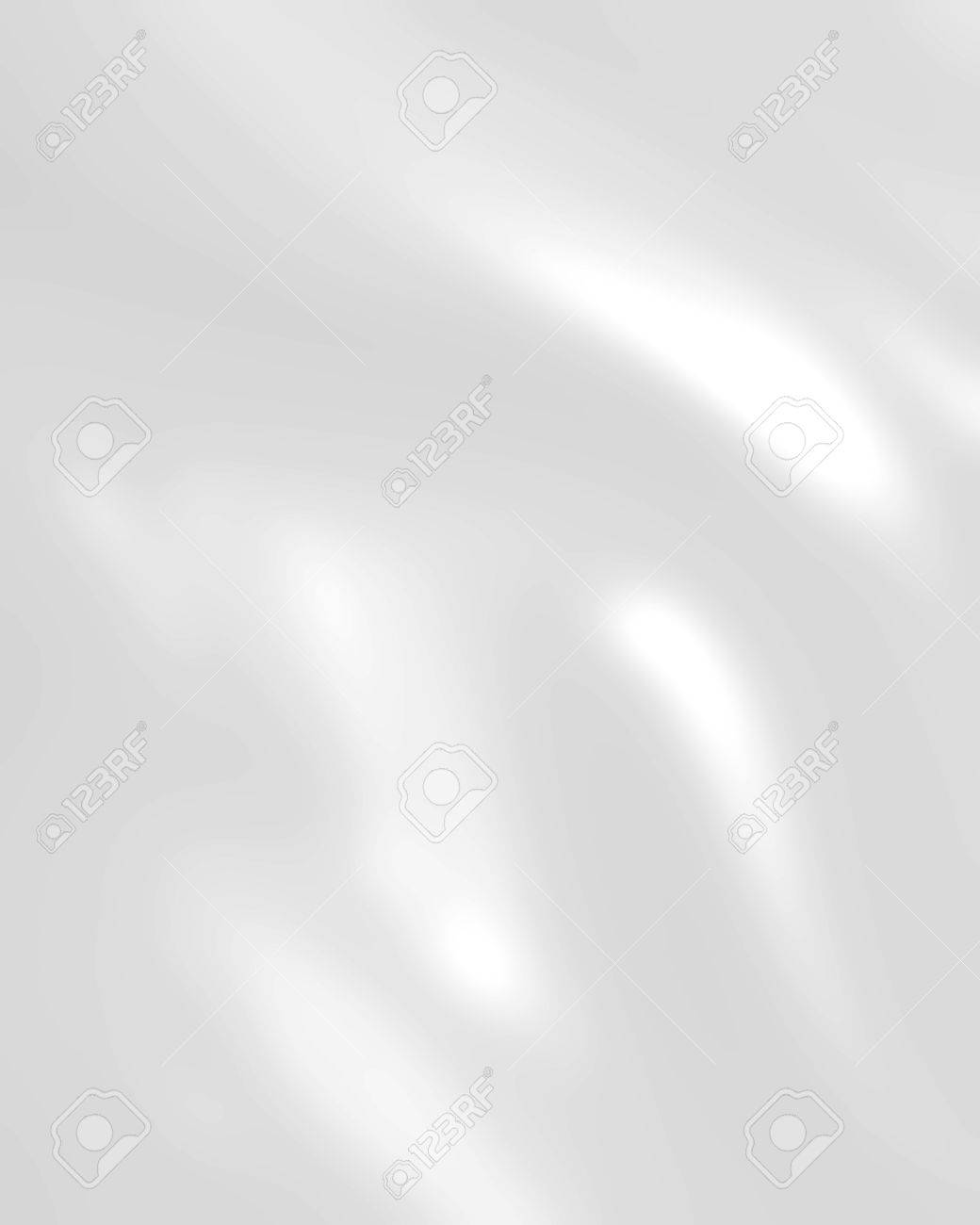 White Wedding Background With Silk Satin Or Cloth Folds And Stock