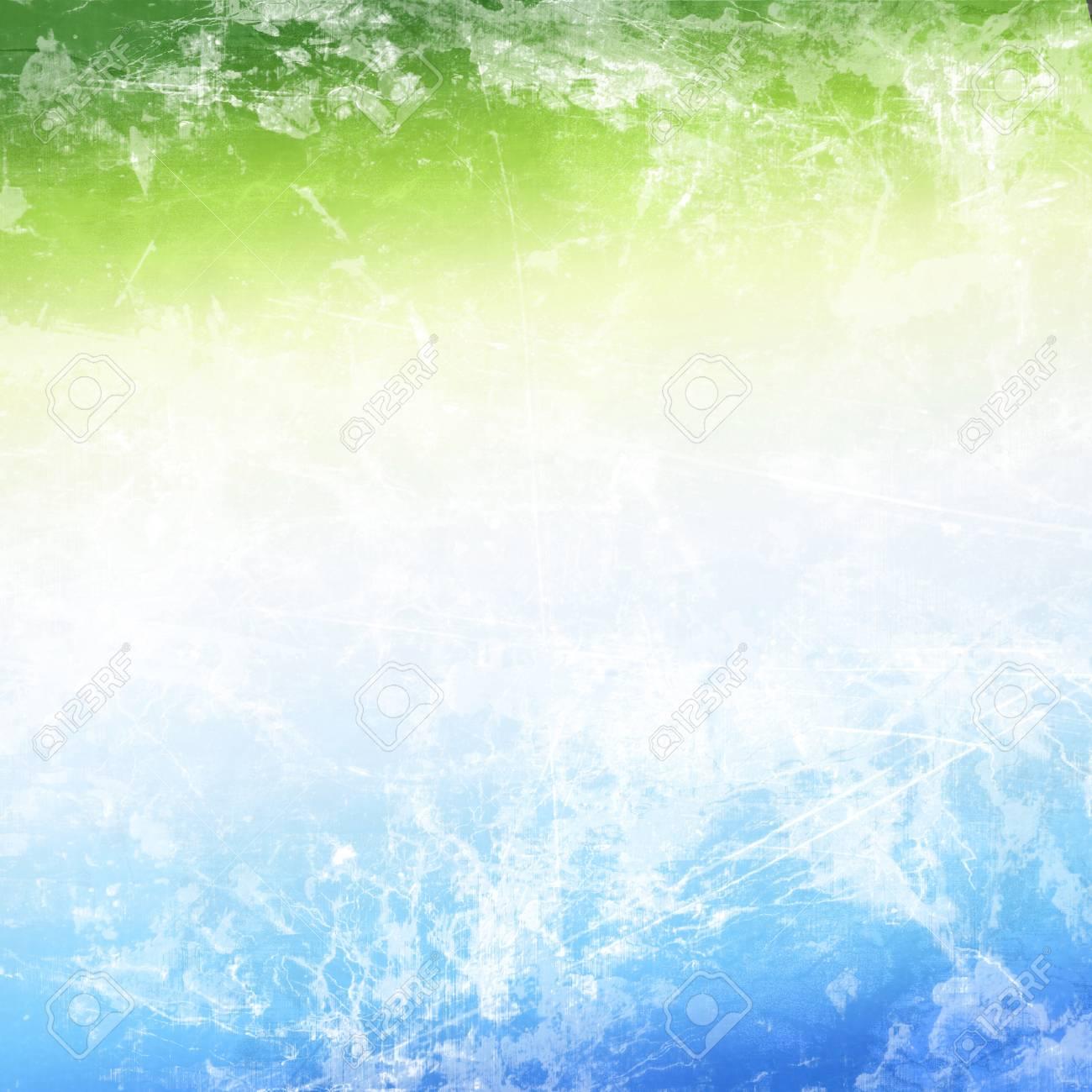 Immagini Stock Sfondo Astratto Nei Colori Blu Bianco E Verde