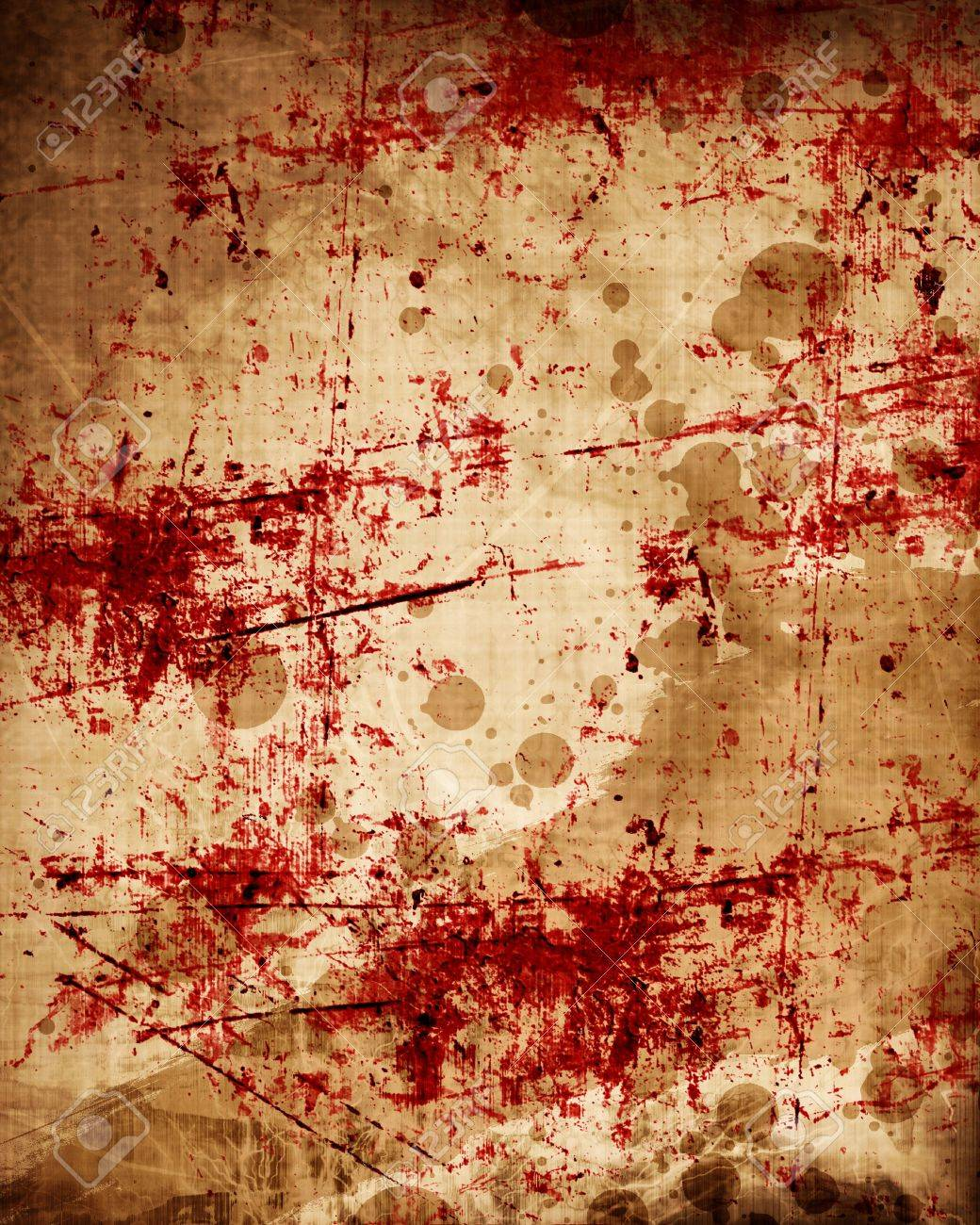 Grunge Background With Some Red Blood Splatter On It Stock Photo Picture And Royalty Free Image Image 22103405 Old red plaster wall texture. grunge background with some red blood splatter on it