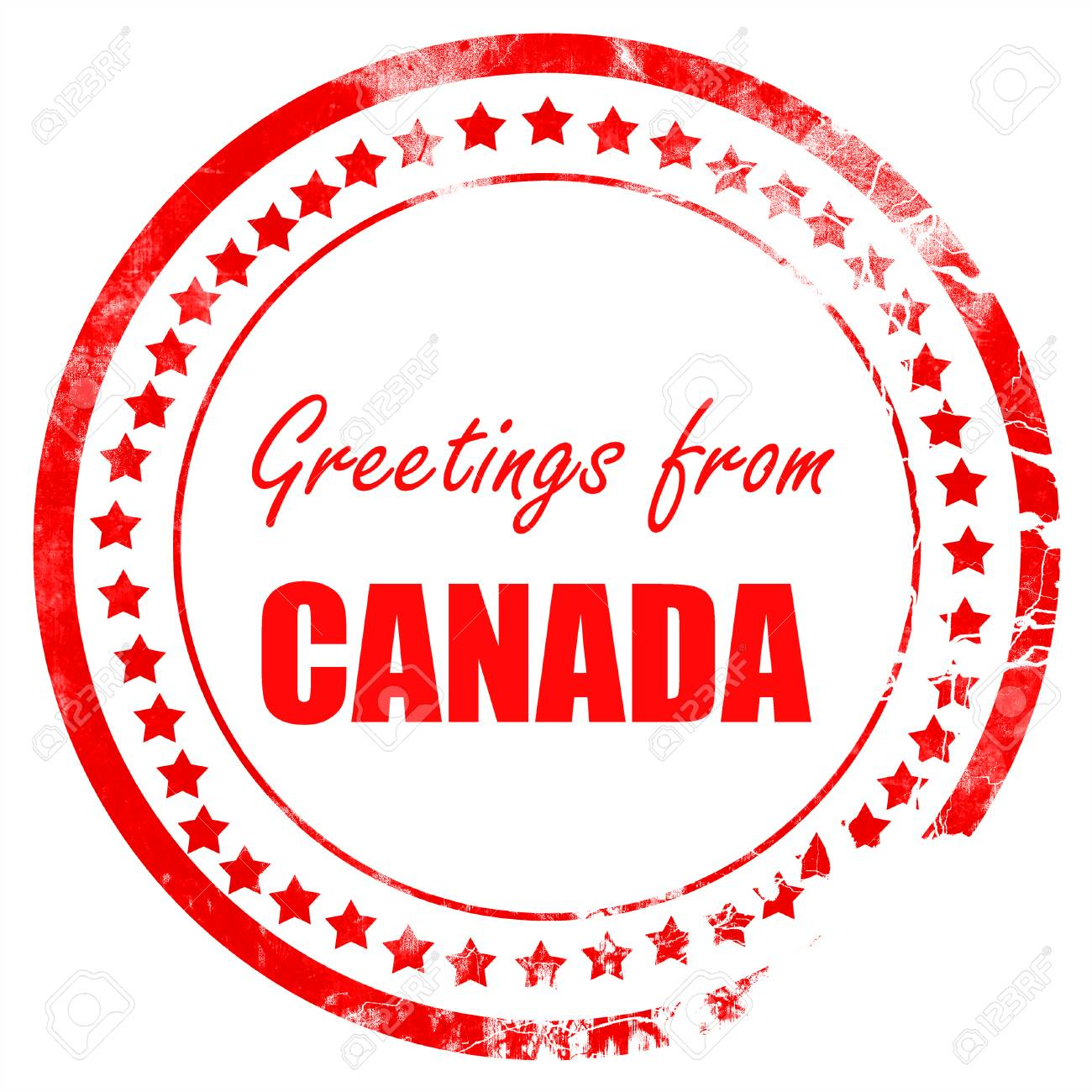 Greetings from canada card with some soft highlights stock photo greetings from canada card with some soft highlights stock photo 53784928 m4hsunfo