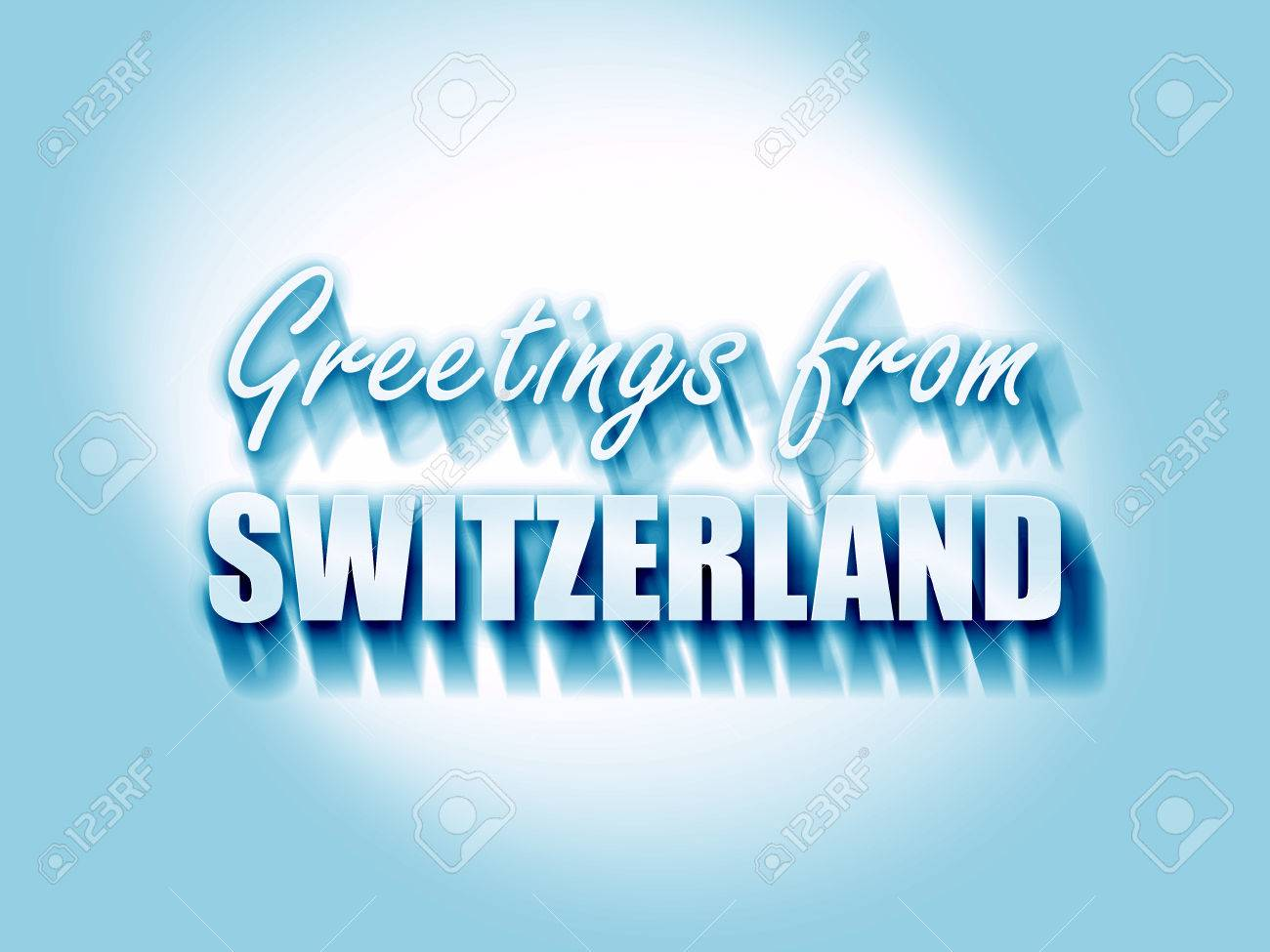 Greetings from switzerland card with some soft highlights stock greetings from switzerland card with some soft highlights stock photo 54554387 m4hsunfo