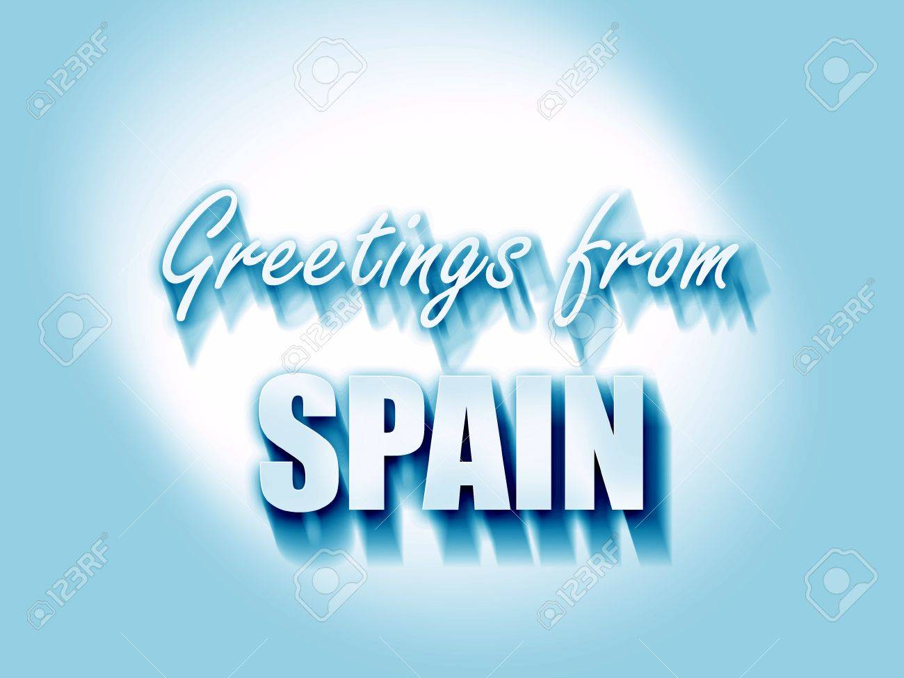 Greetings from spain card with some soft highlights stock photo greetings from spain card with some soft highlights stock photo 54579082 m4hsunfo