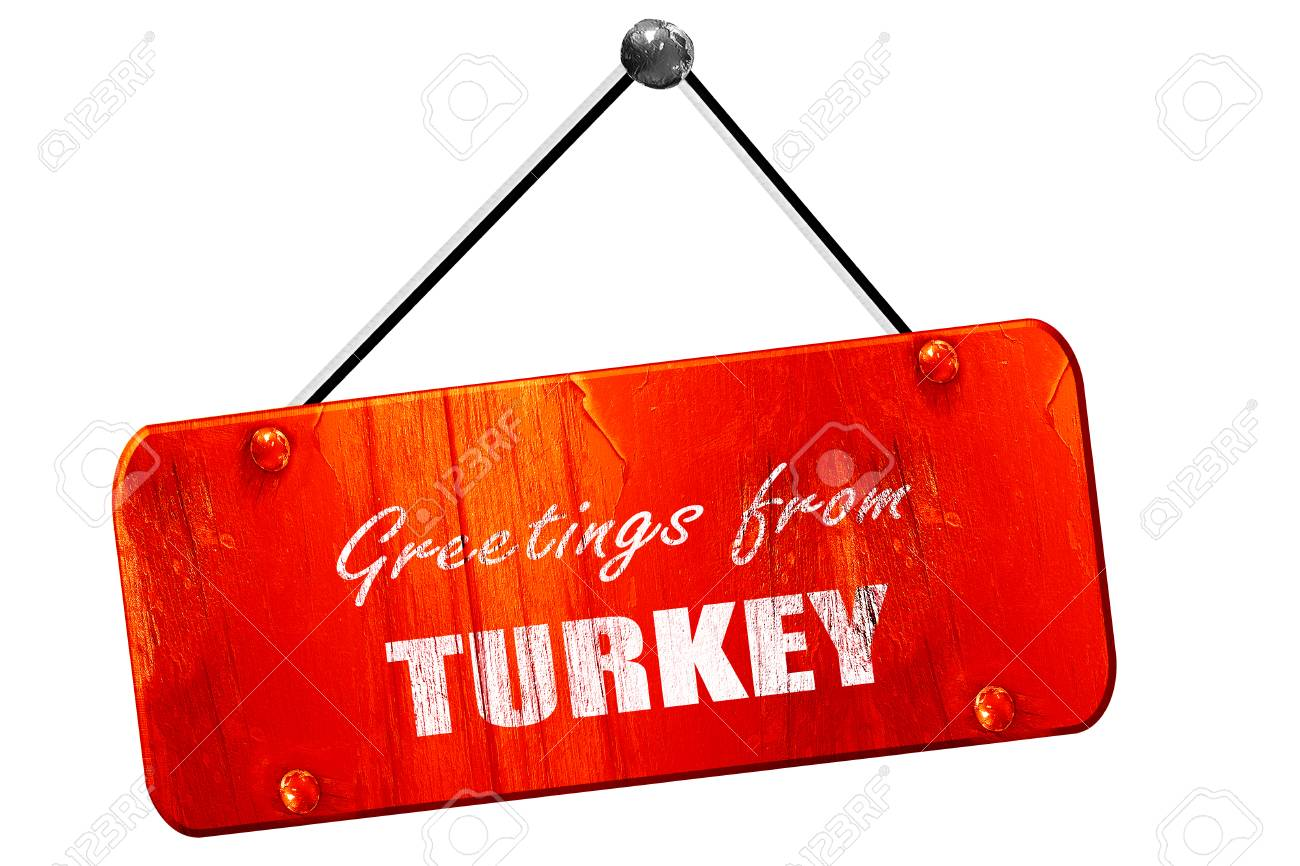 Greetings from turkey card with some soft highlights 3d rendering greetings from turkey card with some soft highlights 3d rendering red grunge vintage sign m4hsunfo